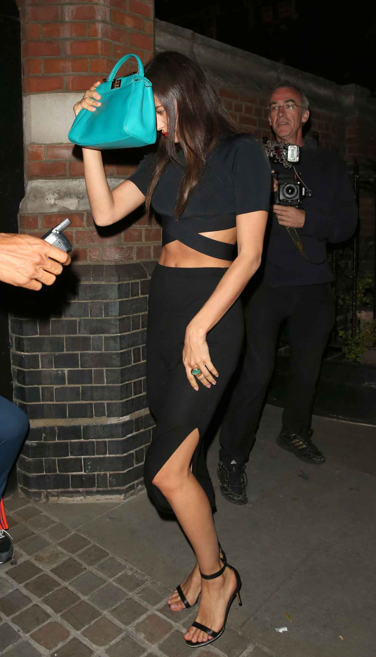 Irina Shayk Style - Out in London, June 2015-2