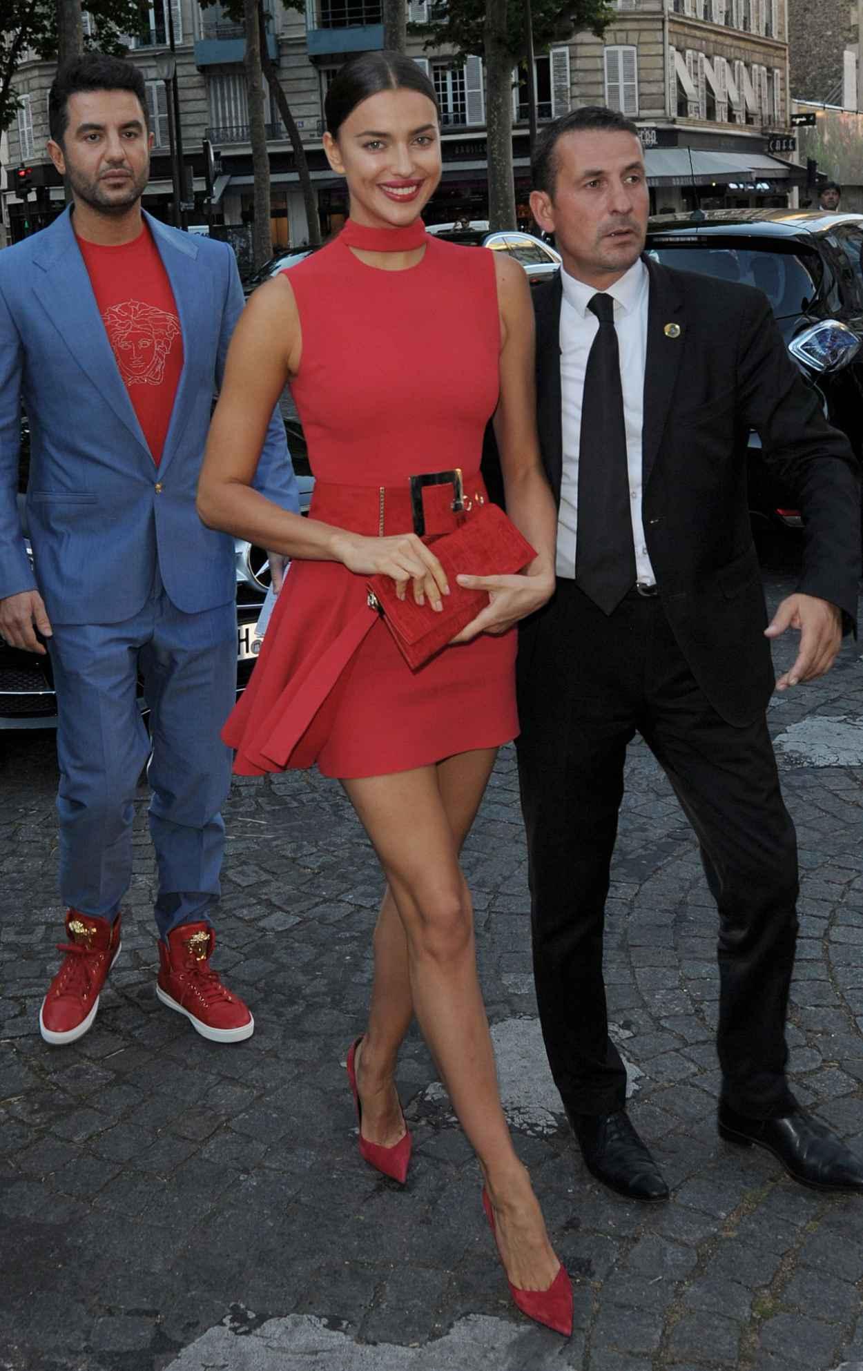 Irina Shayk - Vogue Party at Paris Fashion Week - July 2015-3