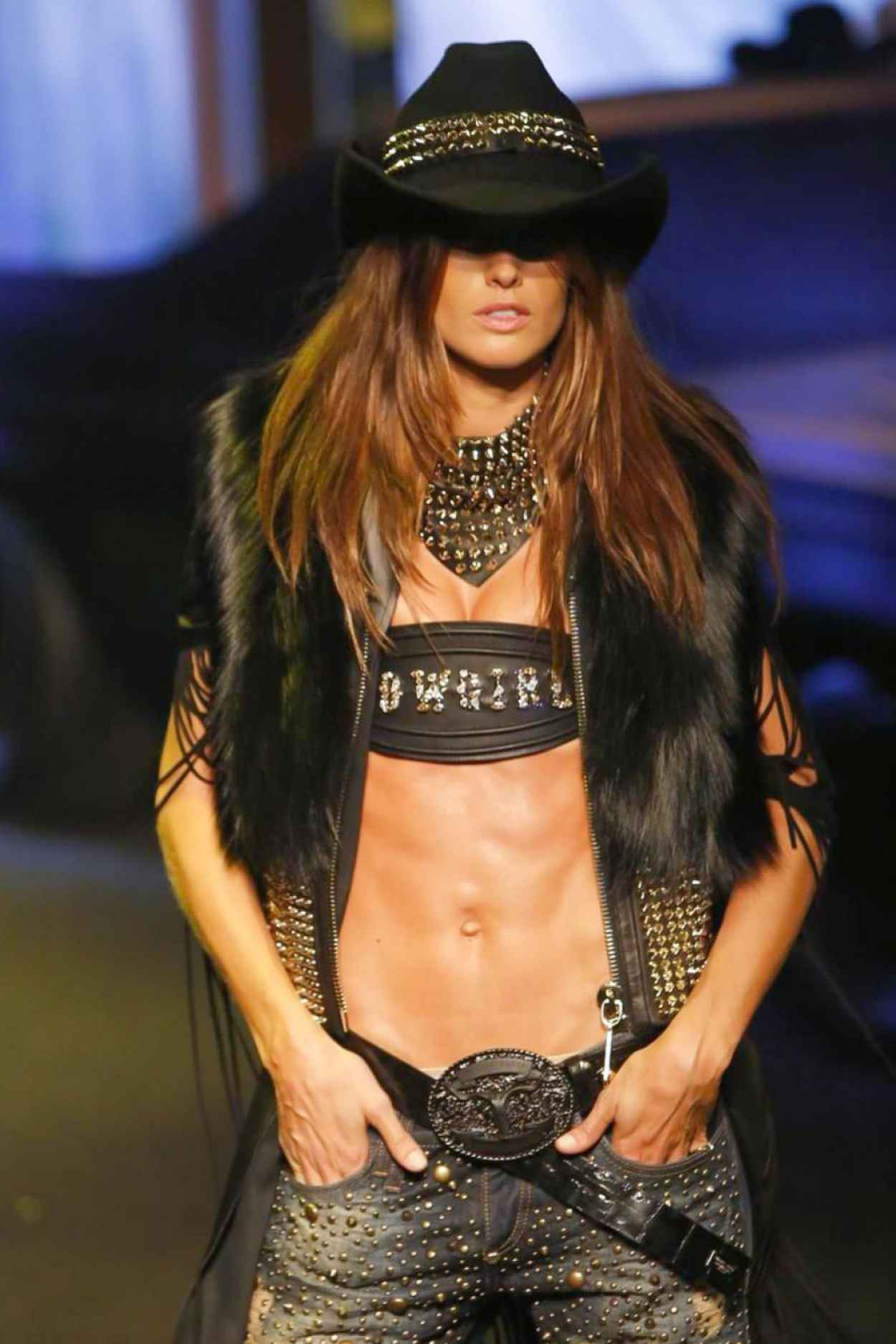 Izabel Goulart - Philip Plein Show at Milan Fashion Week - February 2015-1