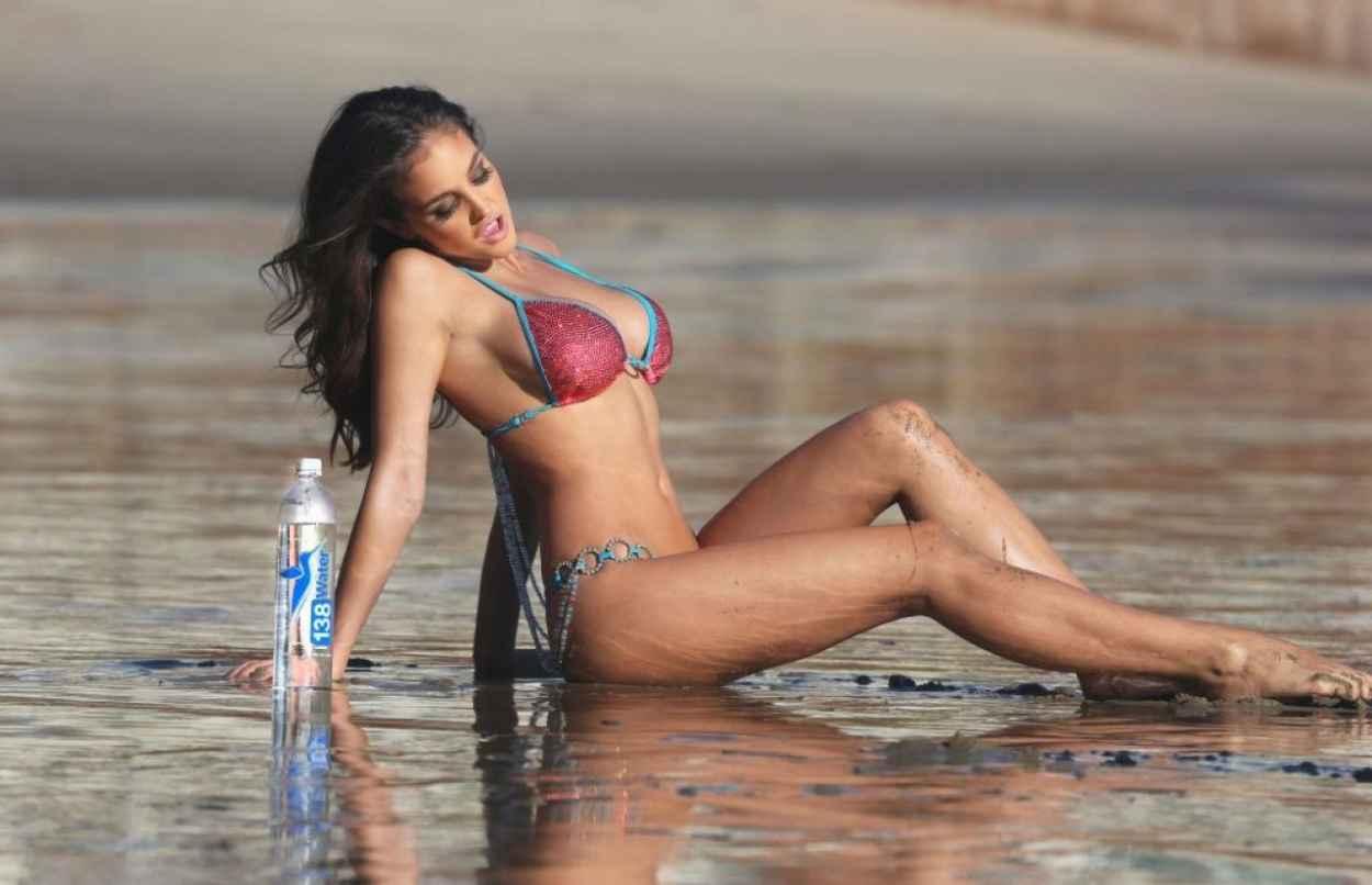 Bikini phot shoot