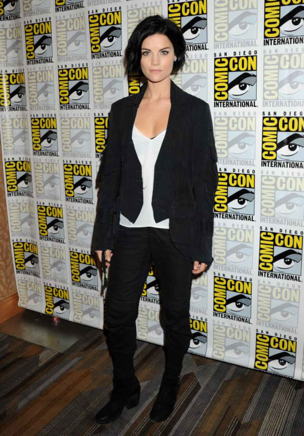 Jaimie Alexander - Blindspot Press Line at Comic Con in San Diego-1