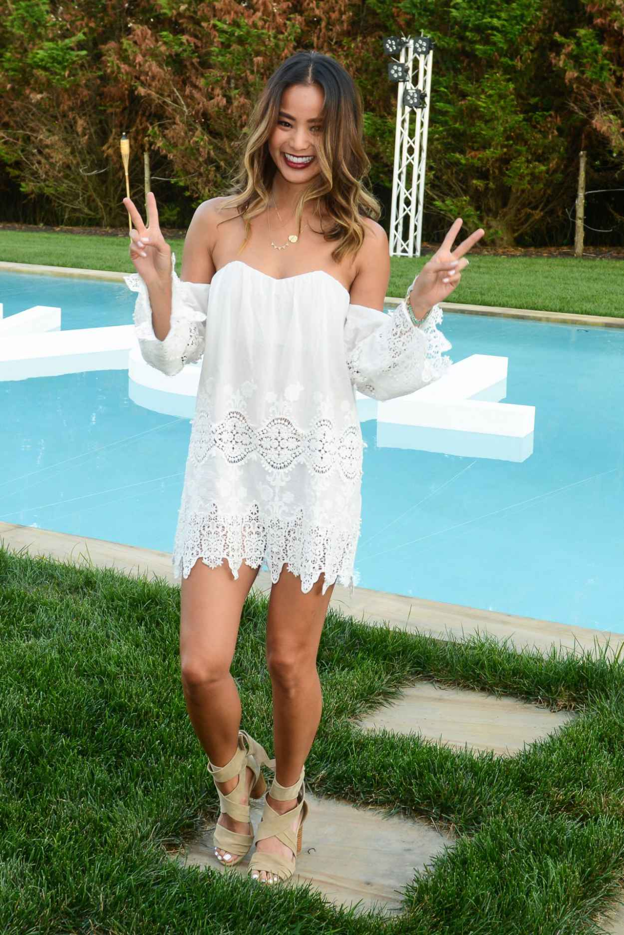 Jamie Chung - REVOLVE and People StyleWatch Summer Party in Sagaponack, New York, July 2015-2
