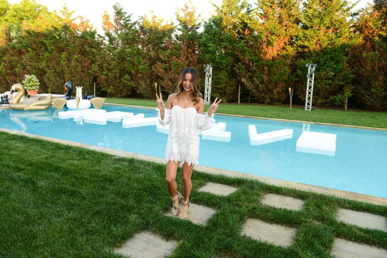 Jamie Chung - REVOLVE and People StyleWatch Summer Party in Sagaponack, New York, July 2015-3
