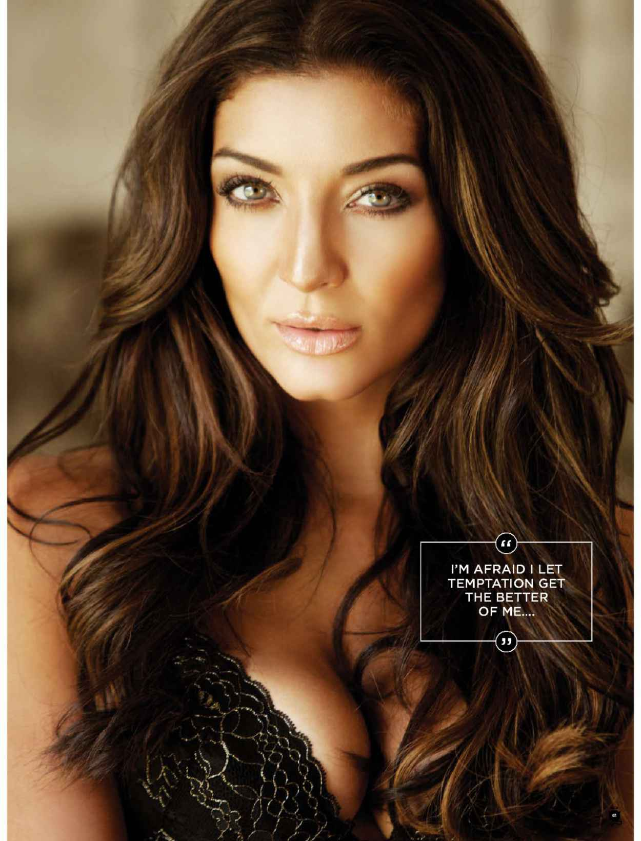 Jeannie de Gouveia - MAXIM Magazine (South Africa) - February 2015 Issue-1