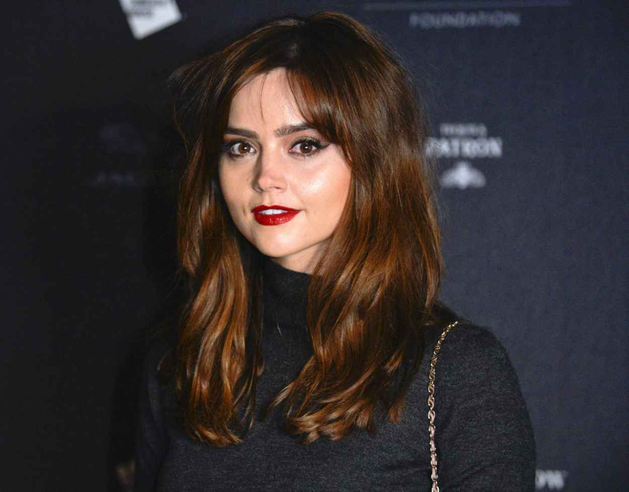 Jenna-Louise Coleman Attends Isabella Blow Fashion Galore Exhibition in London - November 2015-1