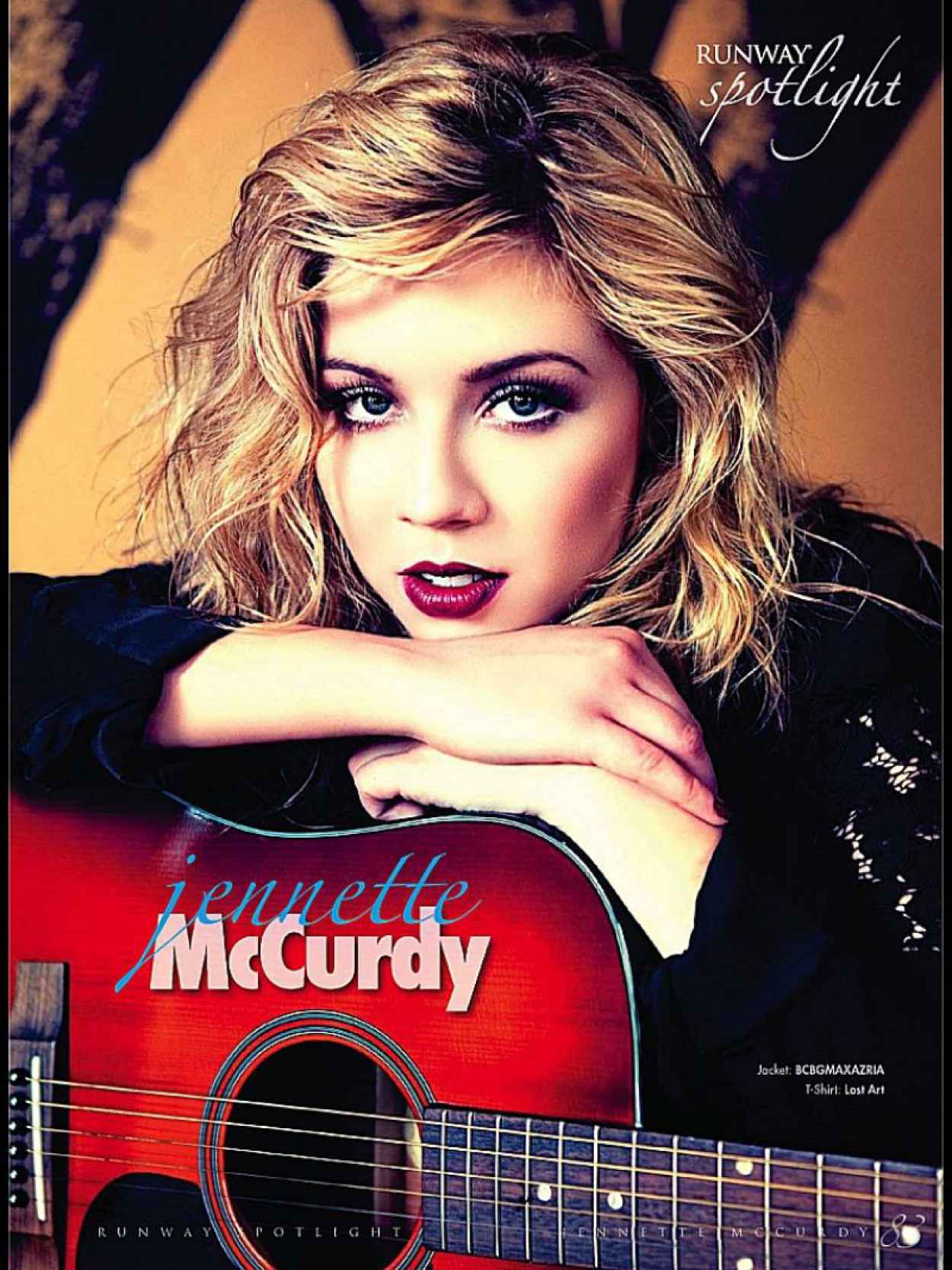 Jennette Mccurdy - RUNWAY Magazine - Winter 2015 Issue-1