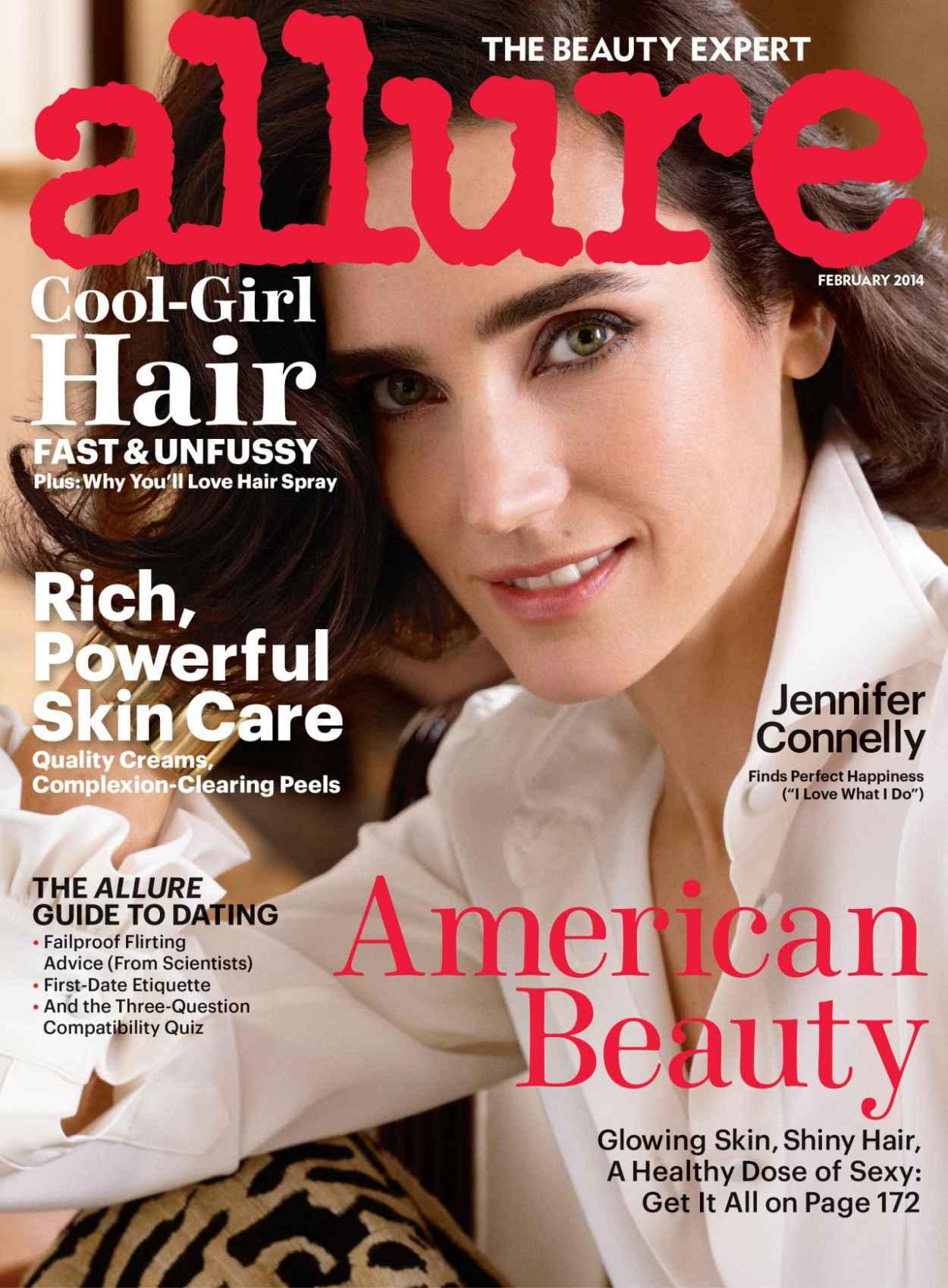 Jennifer Connelly - ALLURE Magazine- February 2015 Cover-1