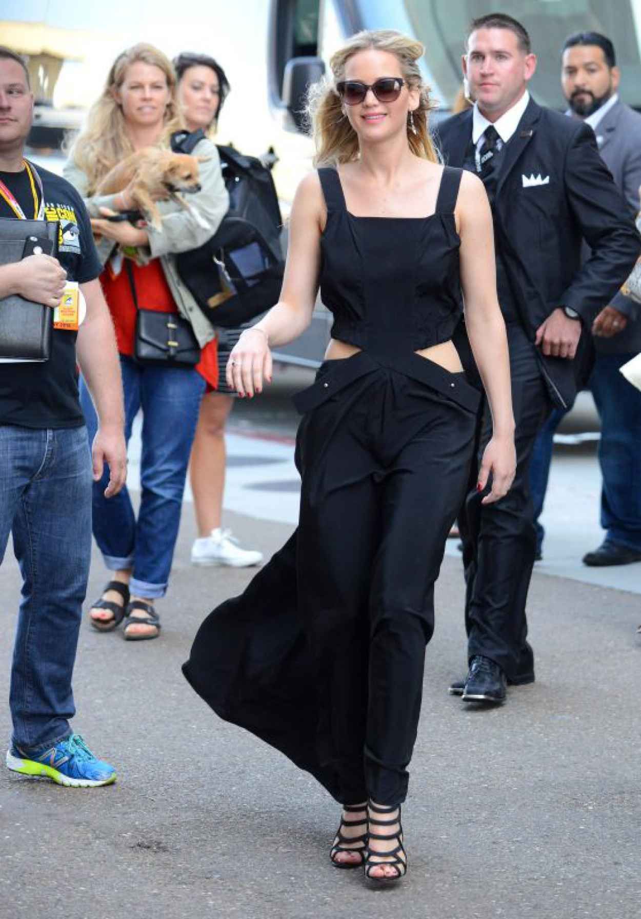 Jennifer Lawrence Arriving at Comic-Con in San Diego, July 2015-1