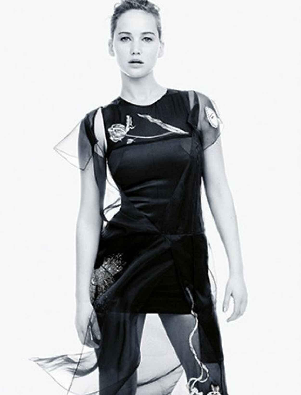 Jennifer Lawrence - MADAME FIGARO Magazine - Special Style Issue-1