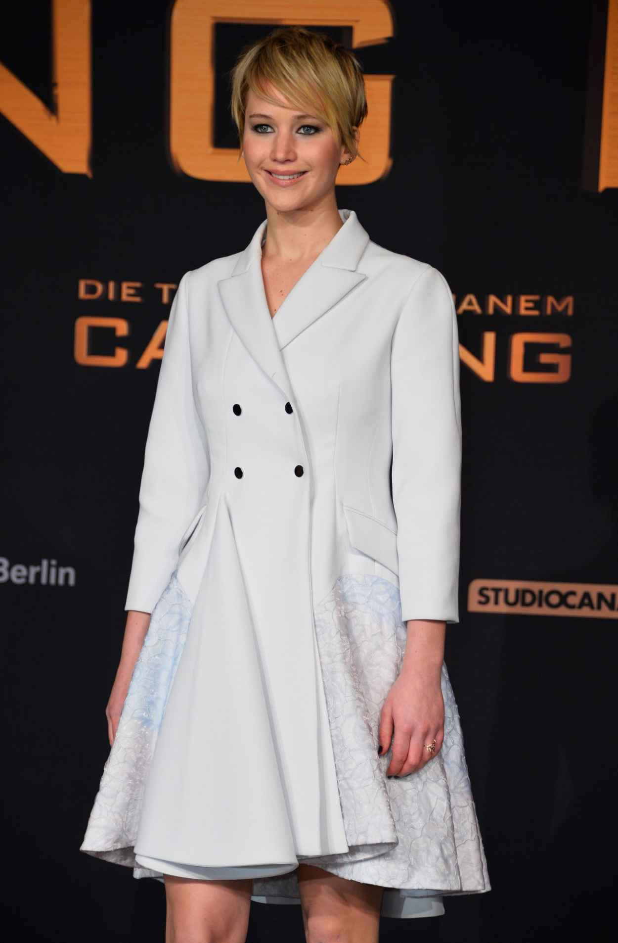 Jennifer Lawrence Red Carpet Photos - THE HUNGER GAMES: CATCHING FIRE Premiere in Berlin-1
