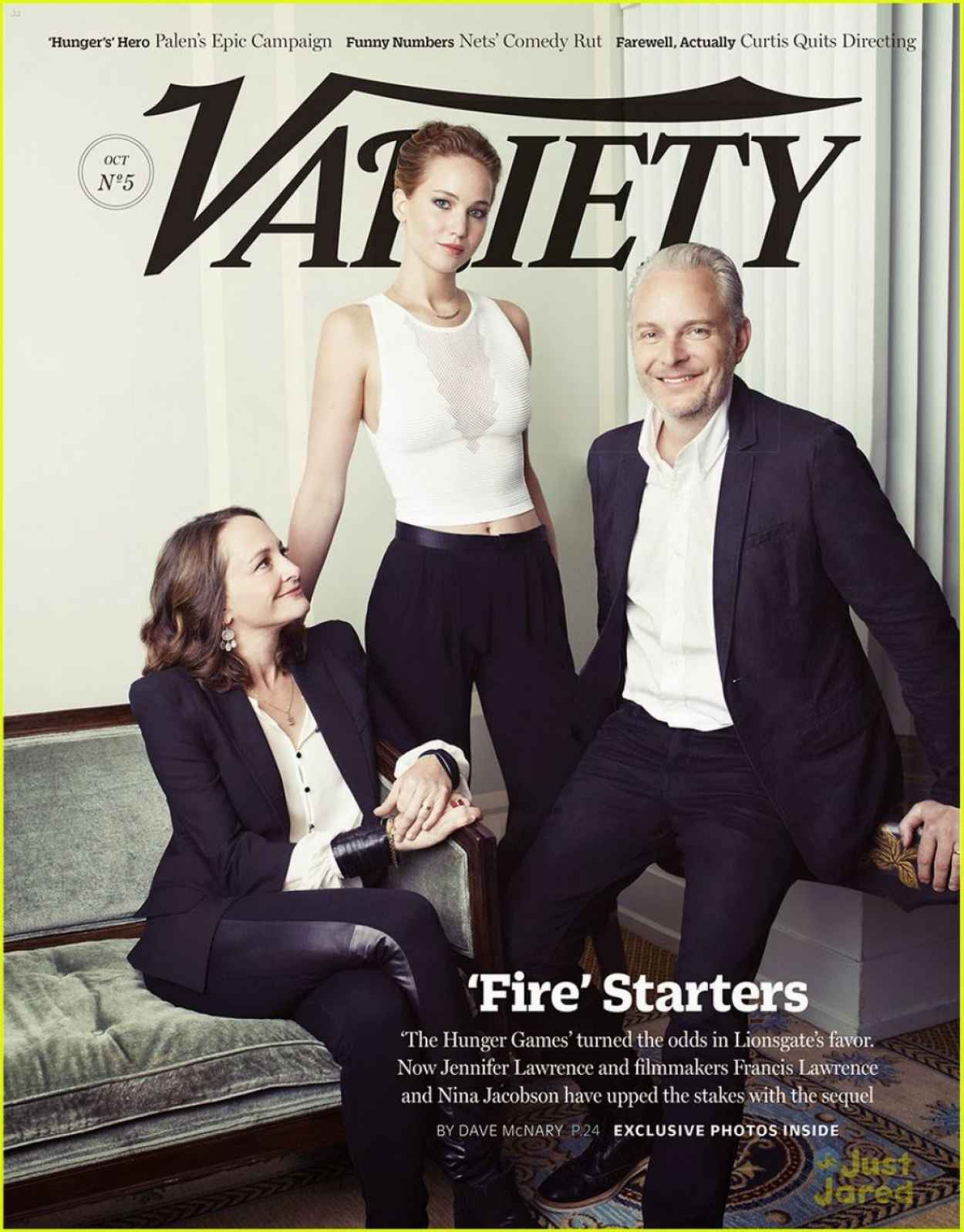 Jennifer Lawrence - VARIETY Magazine - October 2015 Issue-1