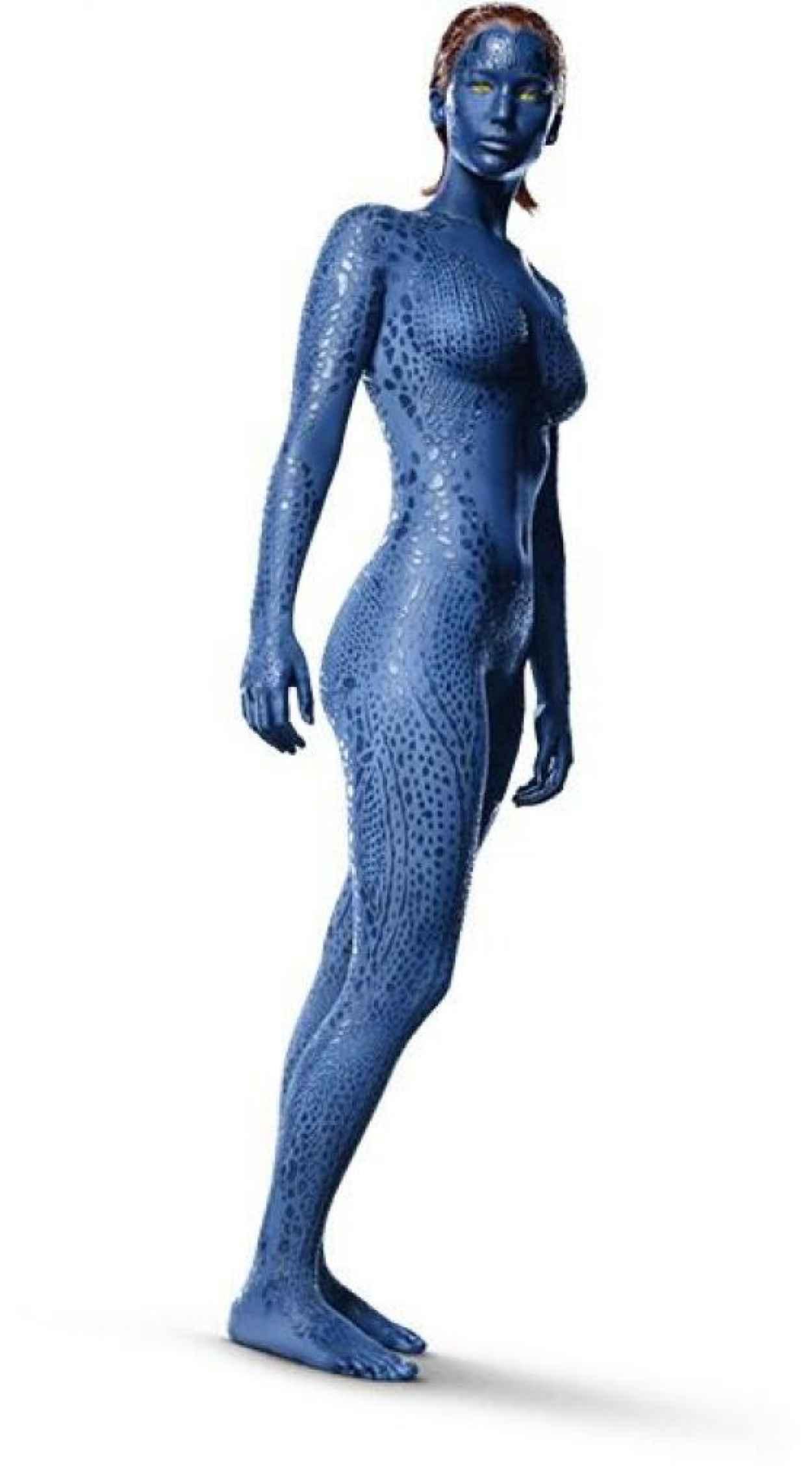 Jennifer Lawrence as Raven aka Mystique in X-Men: Days of