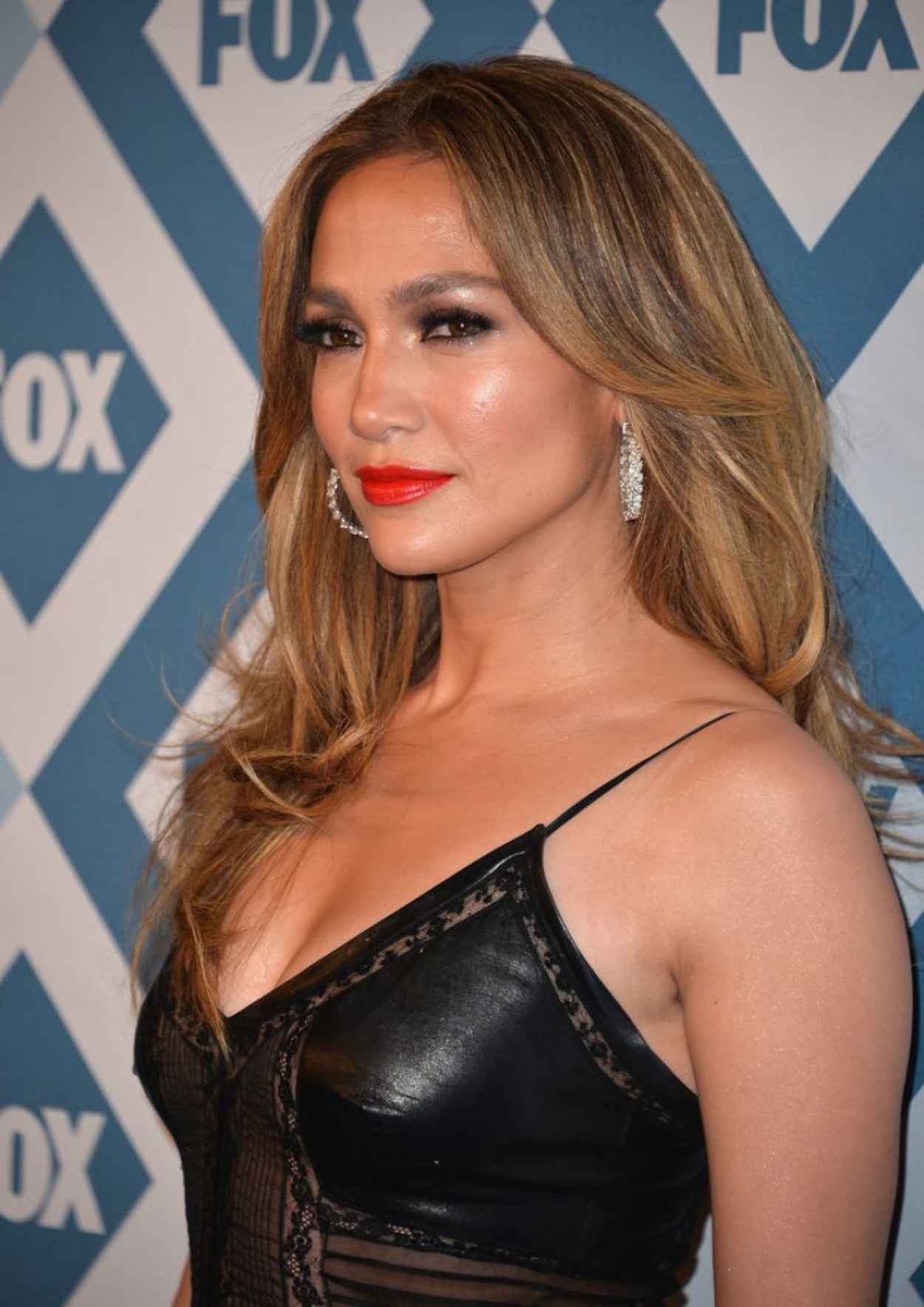 Jennifer Lopez at Fox All-Star Party in Pasadena, January 2015-1