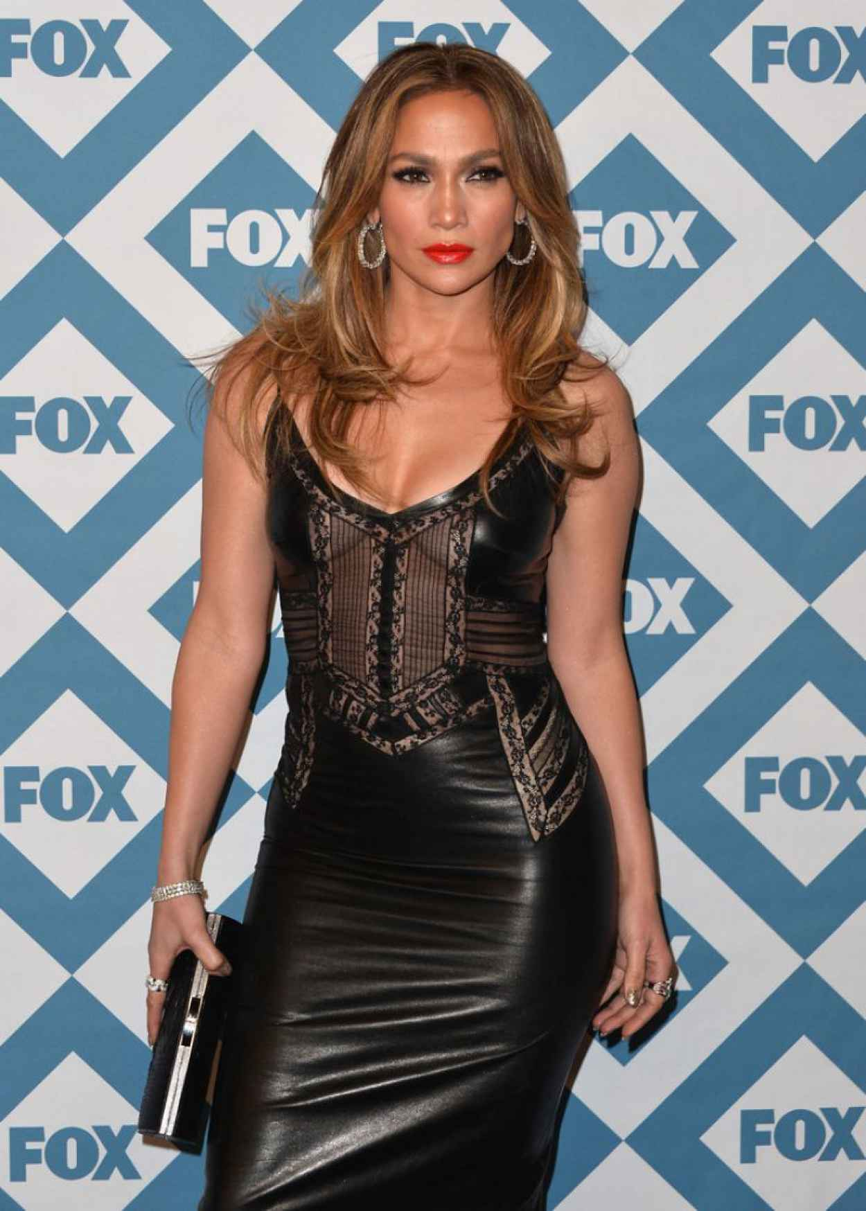 Jennifer Lopez at Fox All-Star Party in Pasadena, January 2015-2