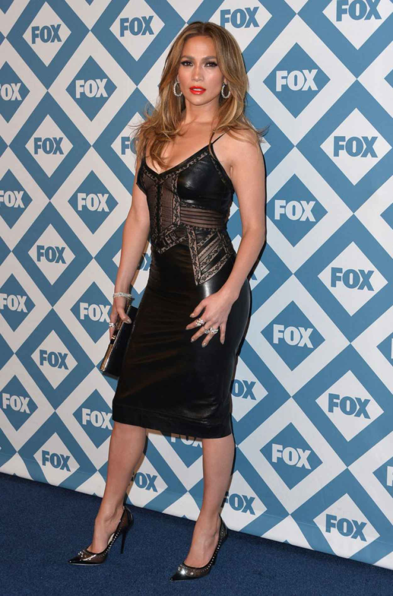 Jennifer Lopez at Fox All-Star Party in Pasadena, January 2015-5