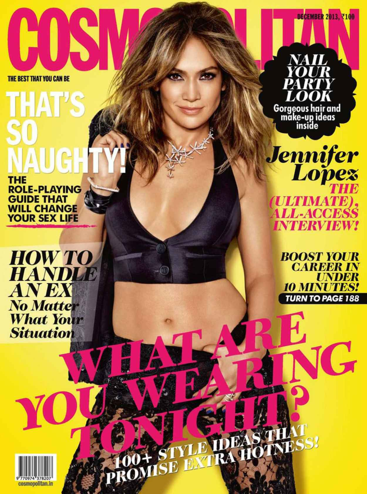 Jennifer Lopez - COSMOPOLITAN Magazine (India) - December 2015-1