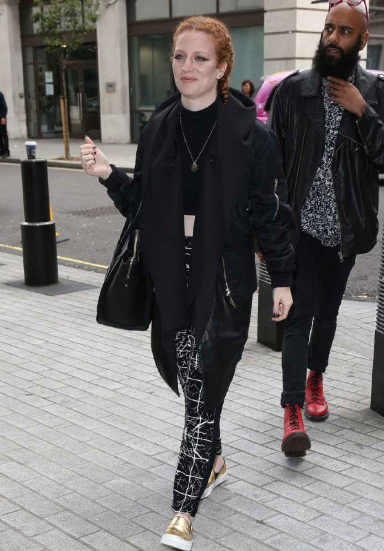 Jess Glynne at BBC Radio One, September 2015-1