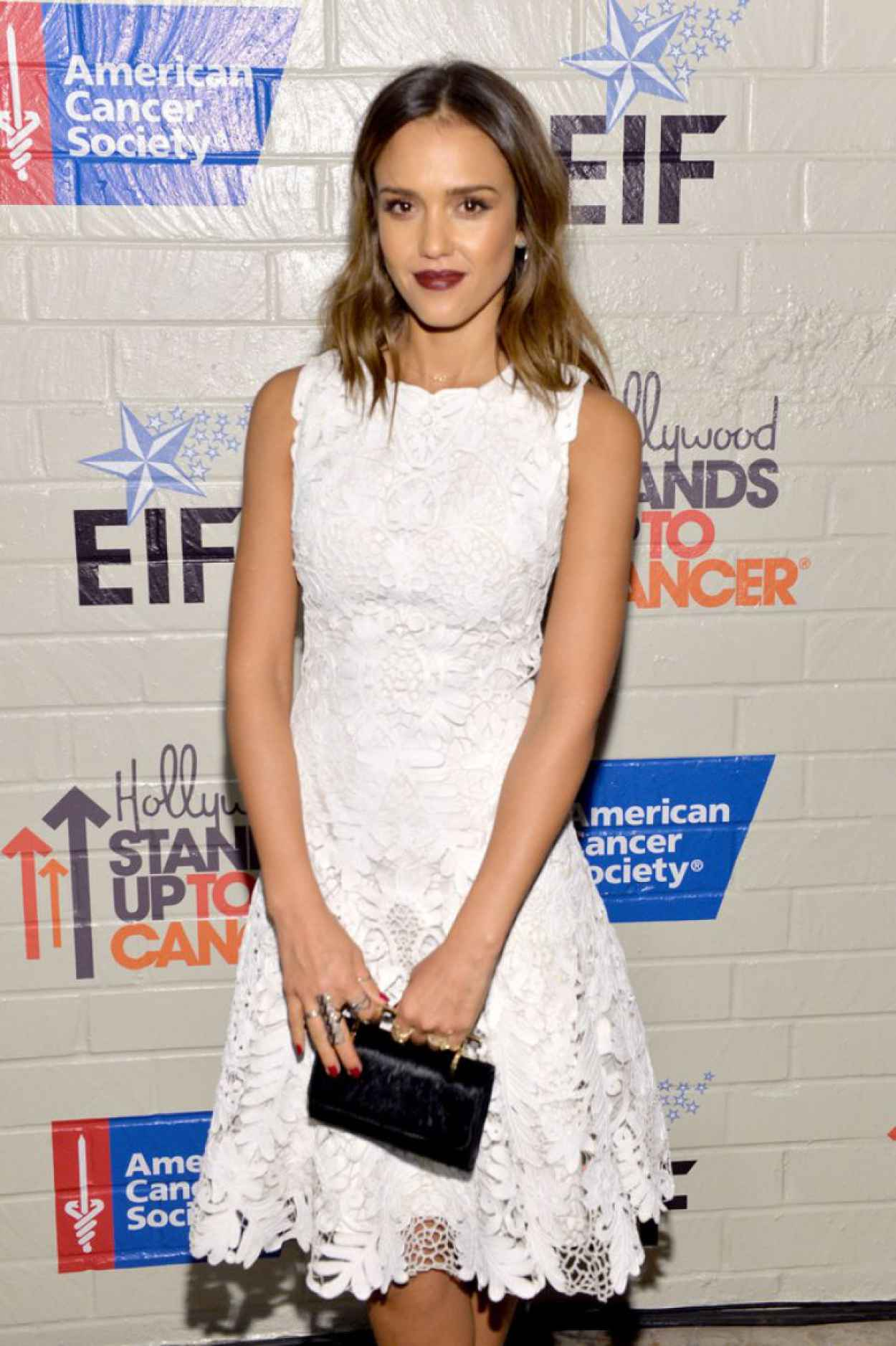 Jessica Alba - Hollywood Stands Up To Cancer Event (2014)-1