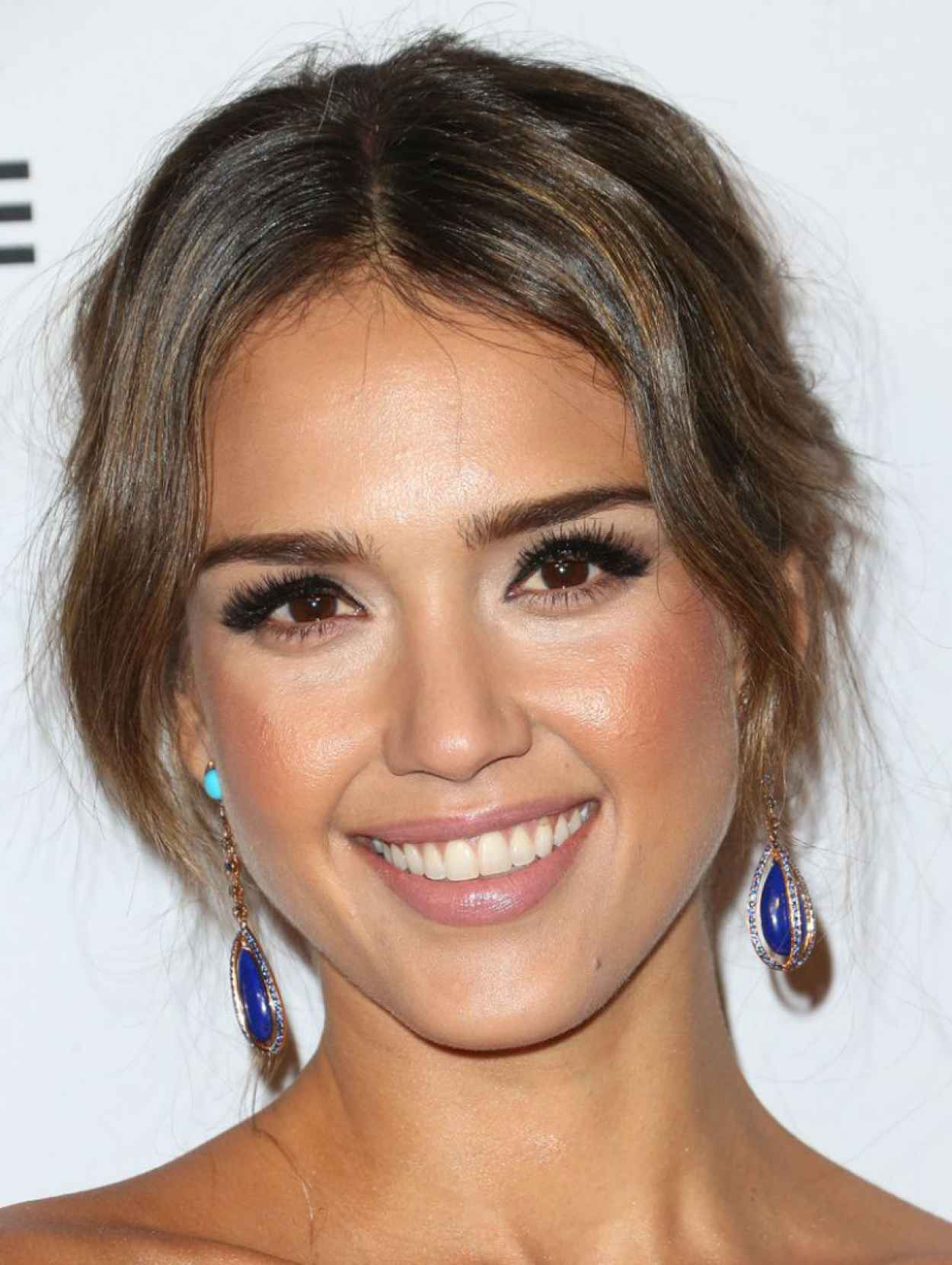 Jessica Alba on Red Carpet - Second Annual Baby2Baby Gala-1
