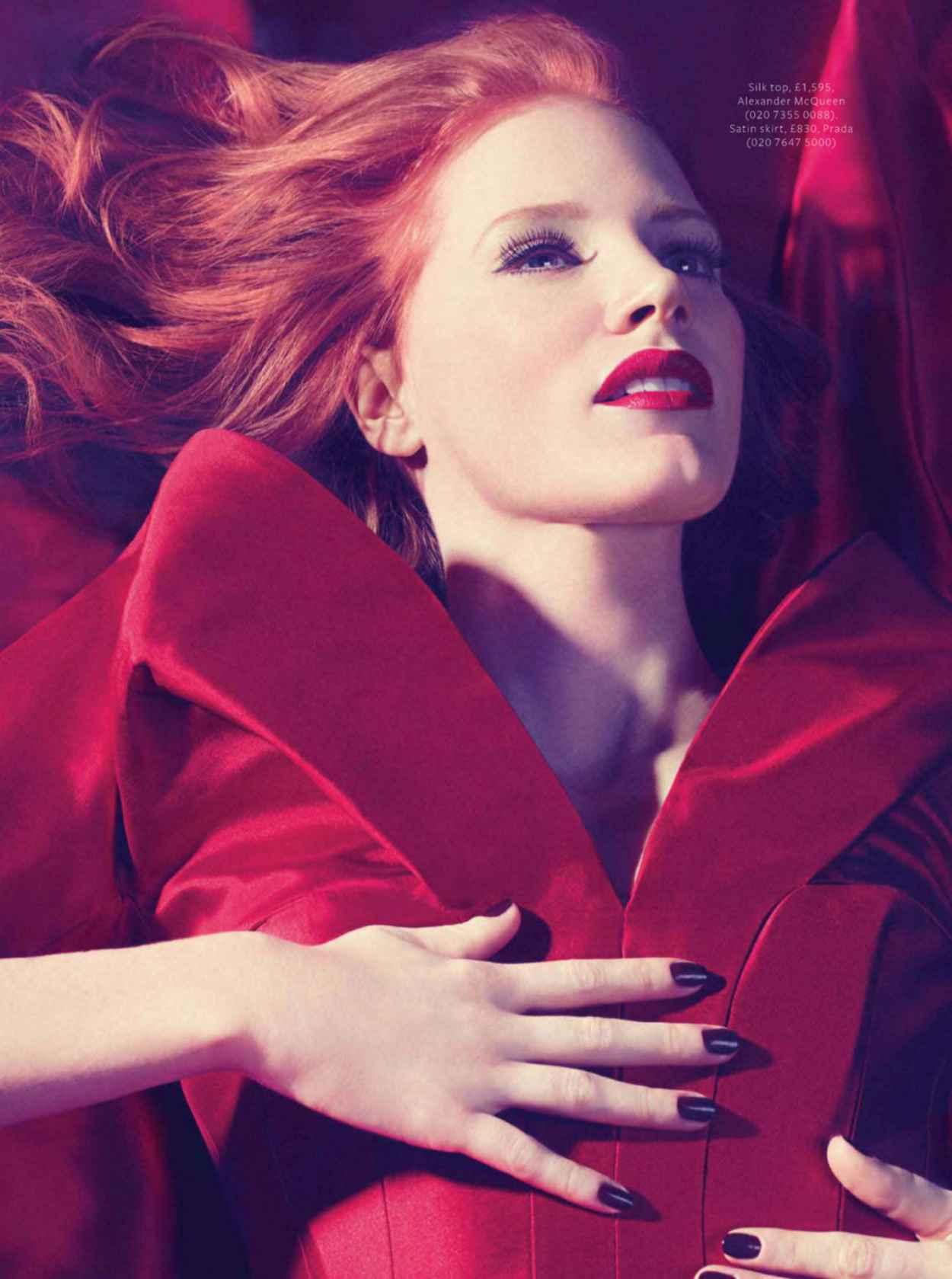 Jessica Chastain - InStyle UK February 2015 Issue-1