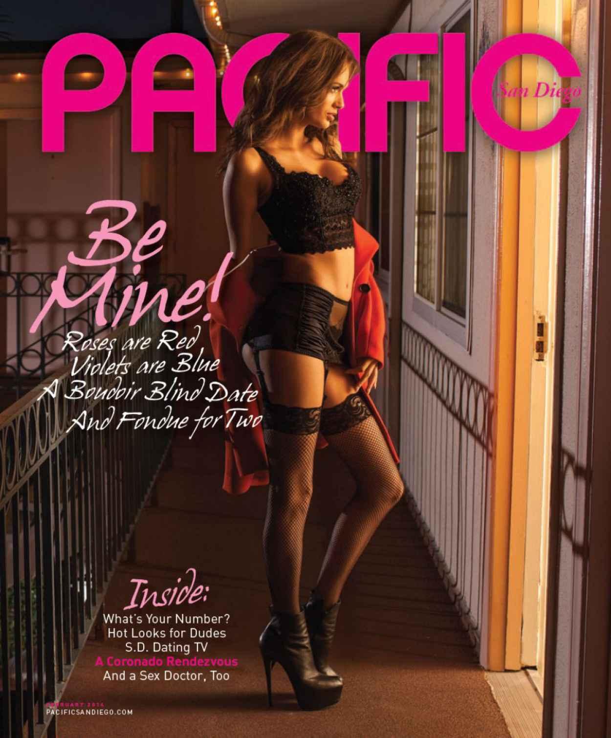Jessica Dykstra - Pacific San Diego Magazine - February 2015 Issue-1