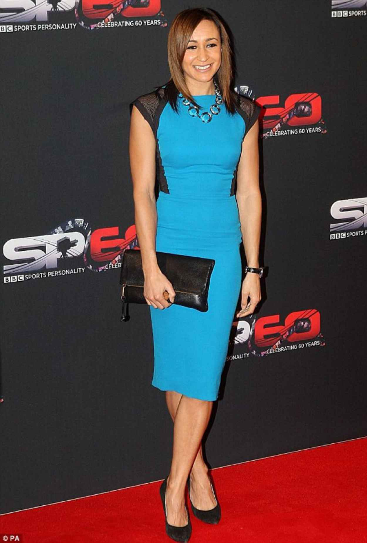 Jessica Ennis Red Carpet Photos - BBC Sports Personality of the Year Awards - Leeds Decemner 2015-1