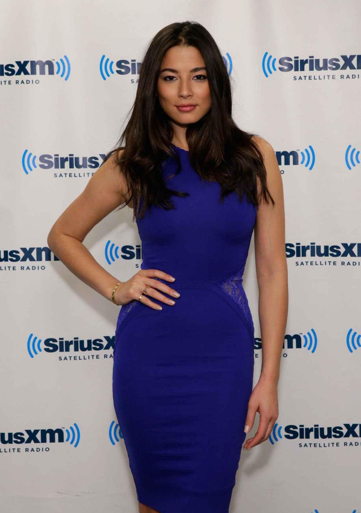 Jessica Gomes - SiriusXM Studios in New York City, February 2015-1