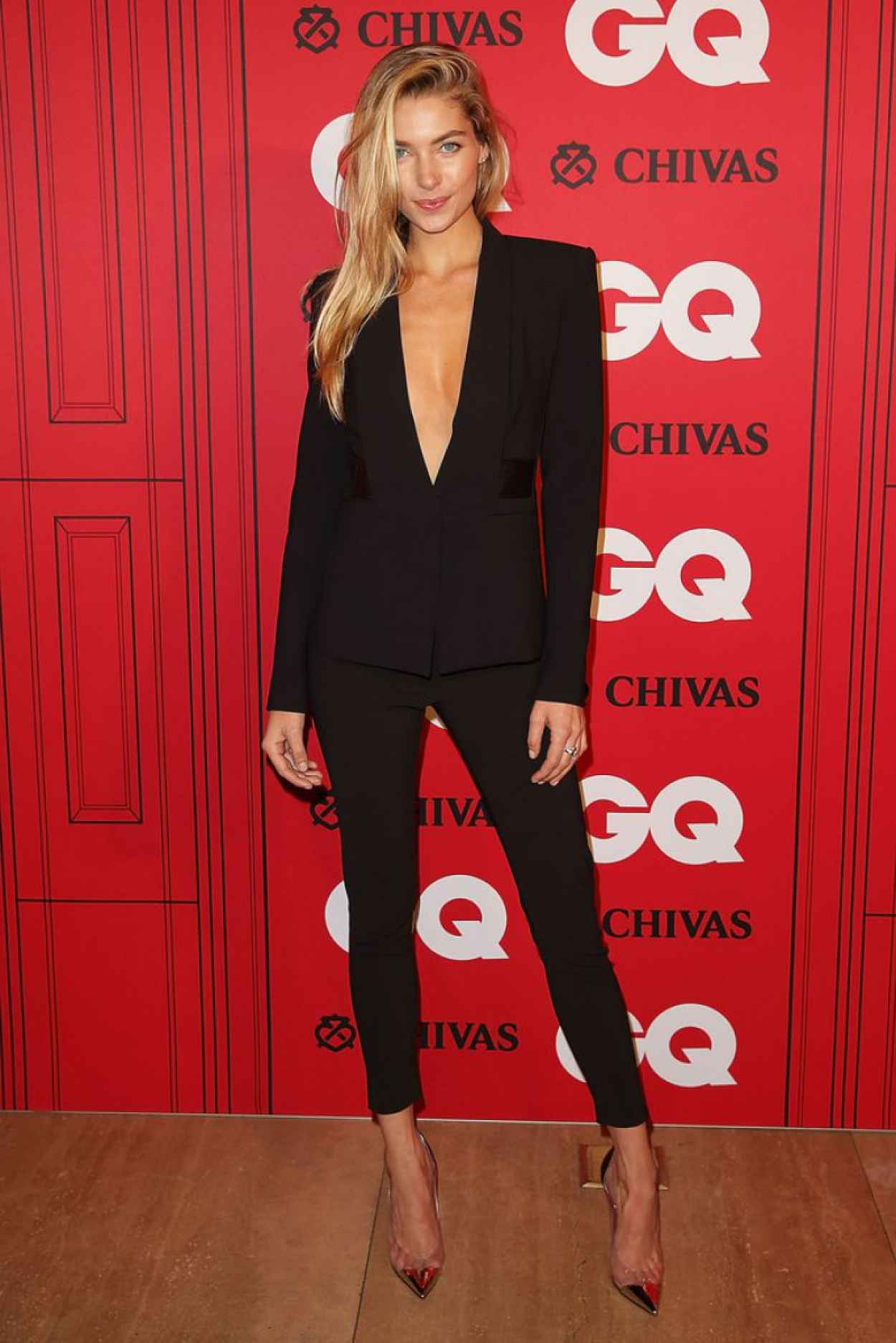 Jessica Hart Attends GQ Men of the Year Awards in Sydney - November 2015-1