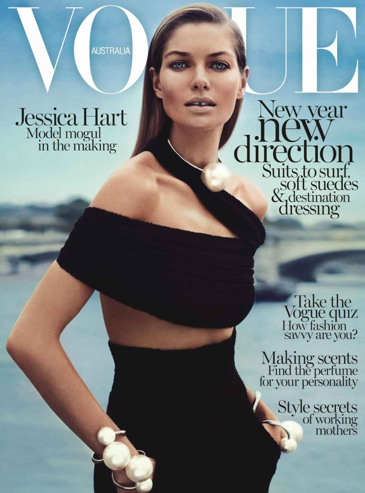 Jessica Hart - VOGUE Magazine (Australia) - January 2015 Issue-1