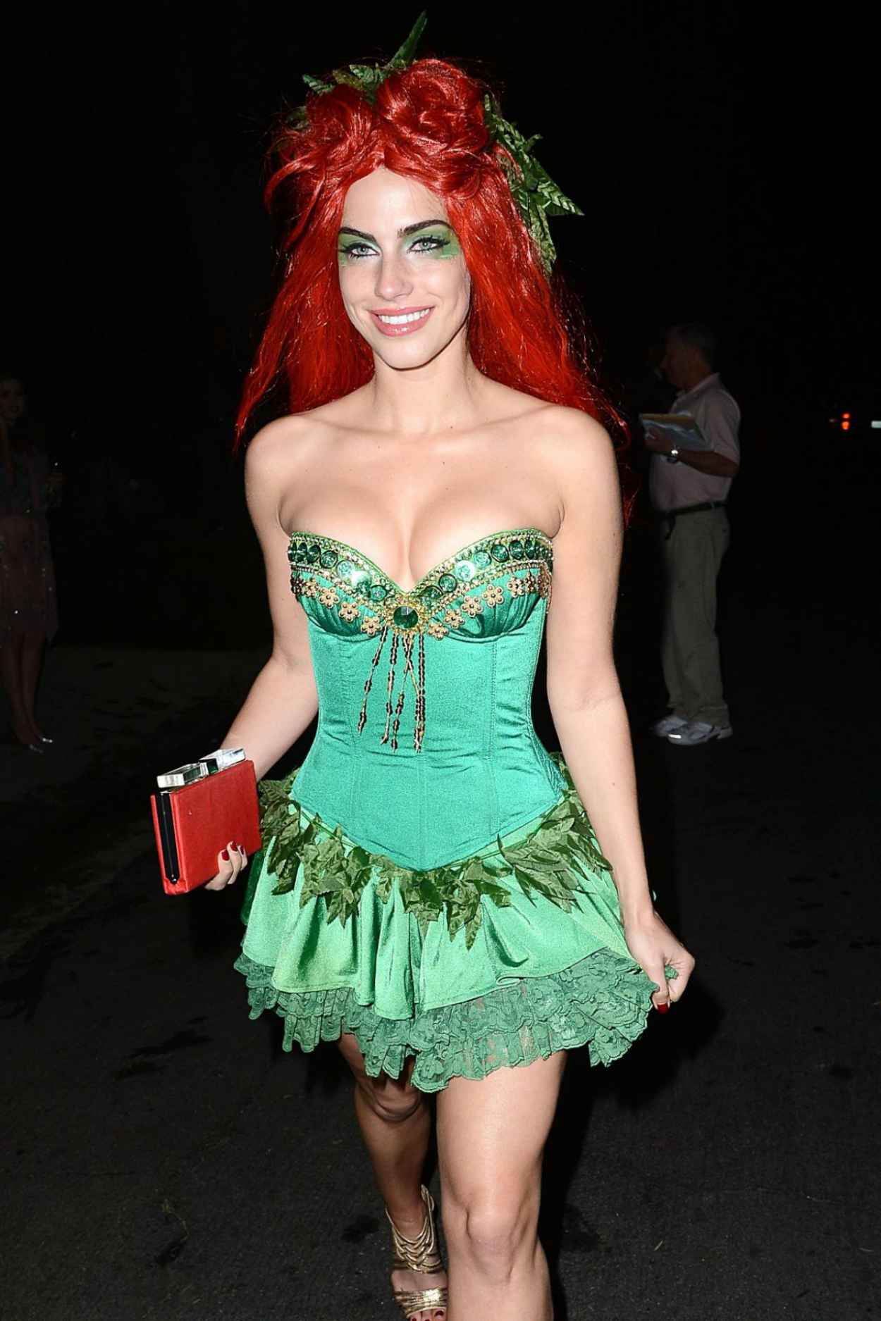 Jessica Lowndes at a Halloween Party-1
