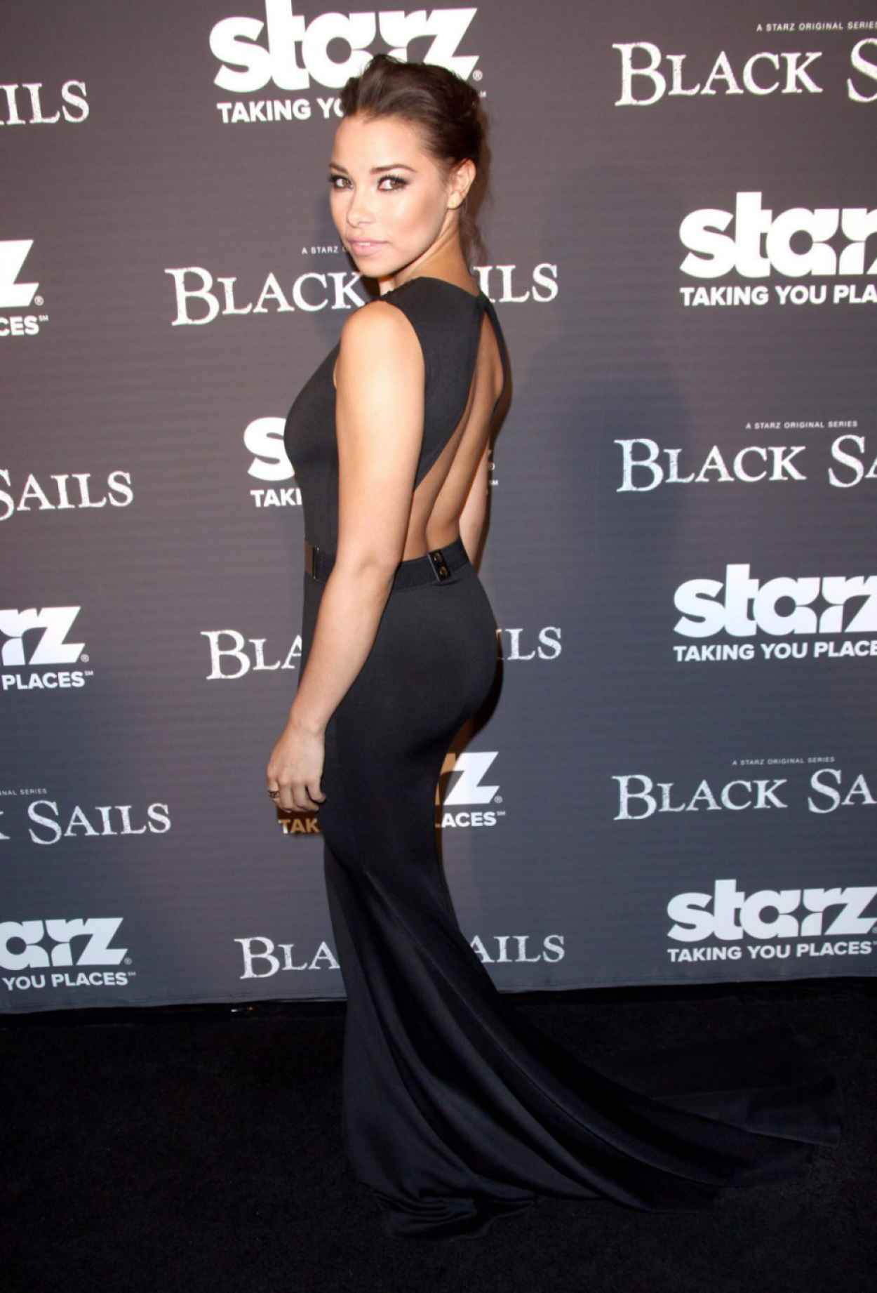 Jessica Parker Kennedy - STARZ BLACK SAILS Screening in Los Angeles - January 2015-1