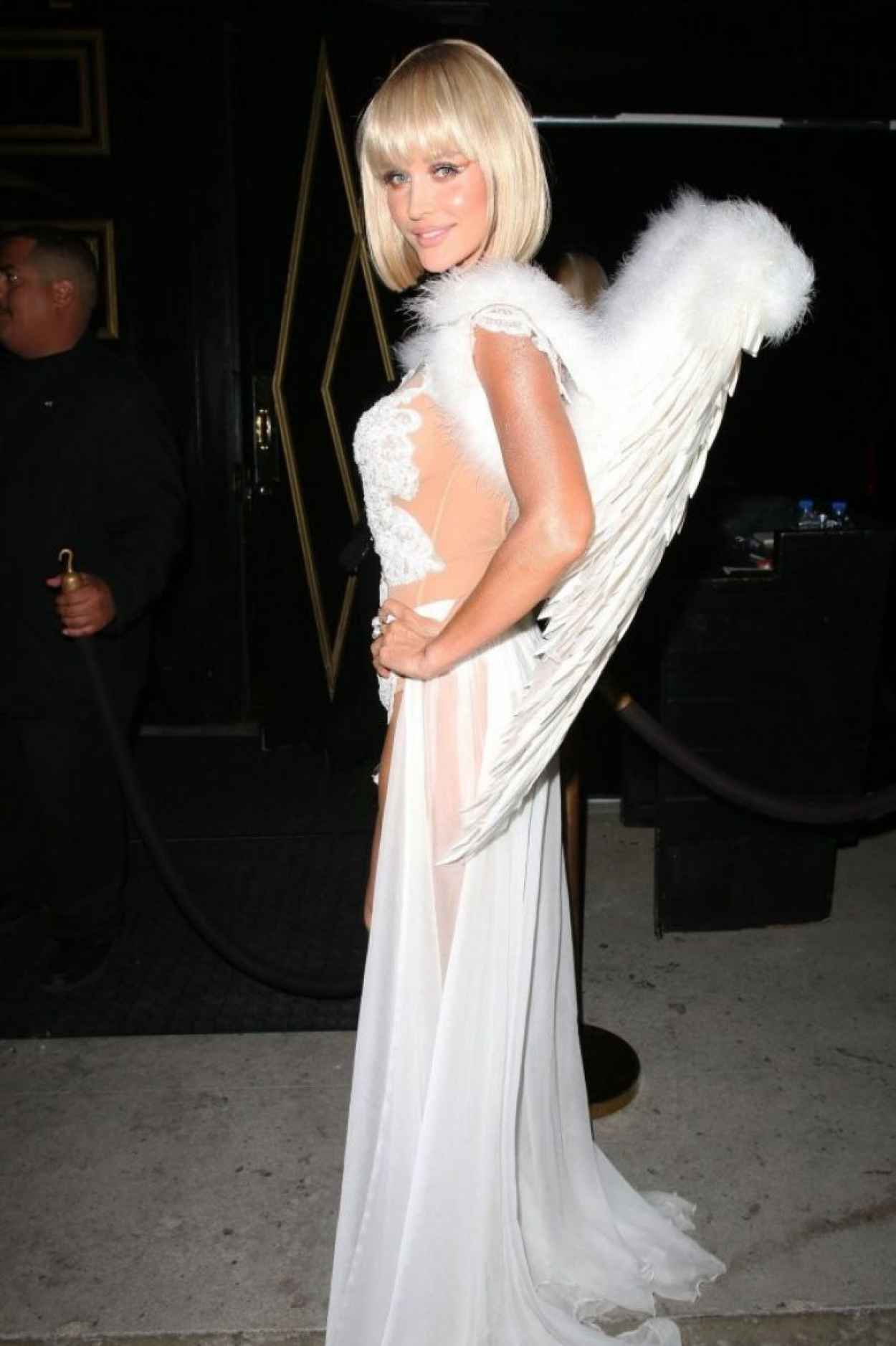 Joanna Krupa - Halloween Party - Bootsy Bellows in West Hollywood-1