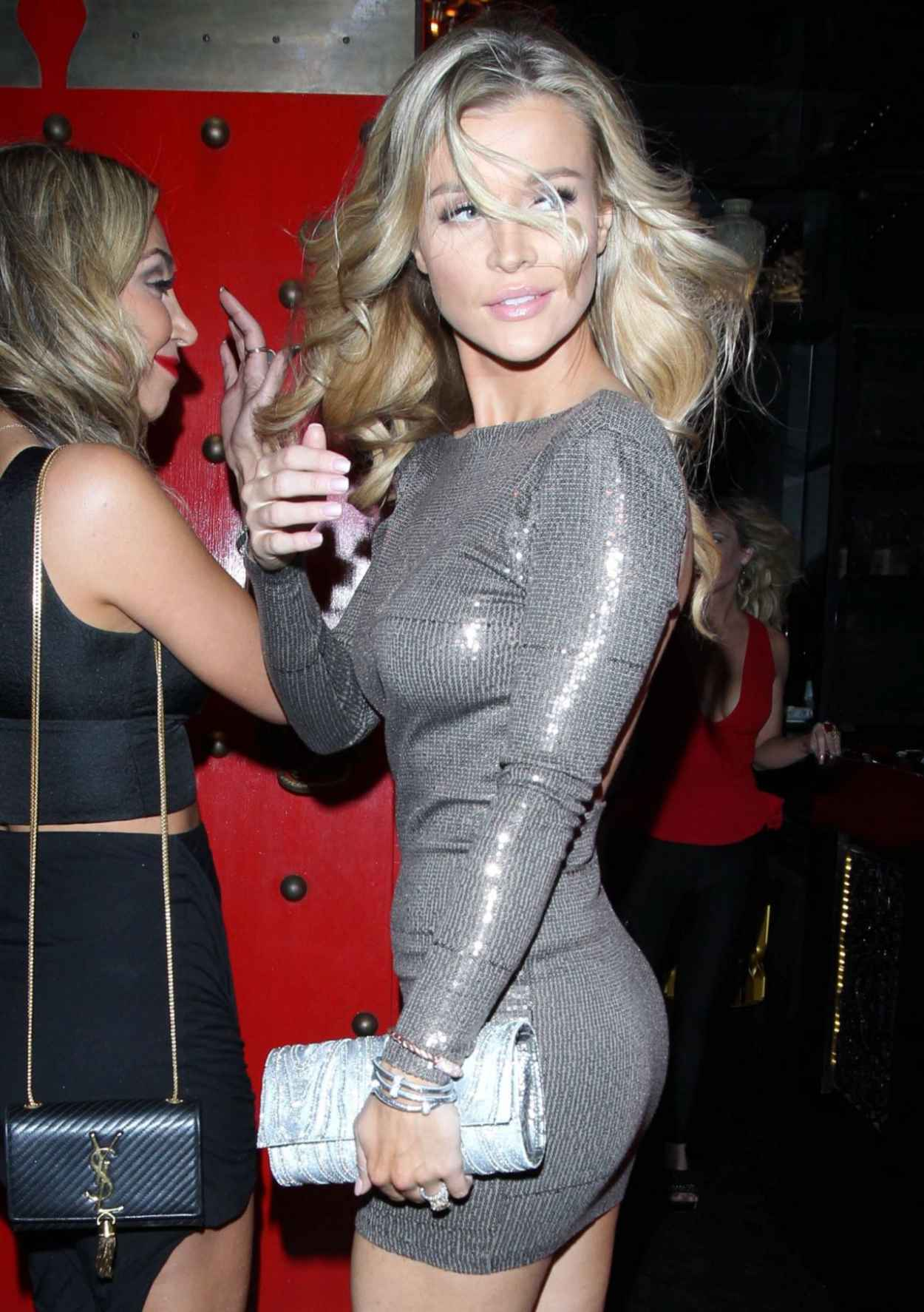 Joanna Krupa in Skintight Dress In West Hollywood - January 2015-1