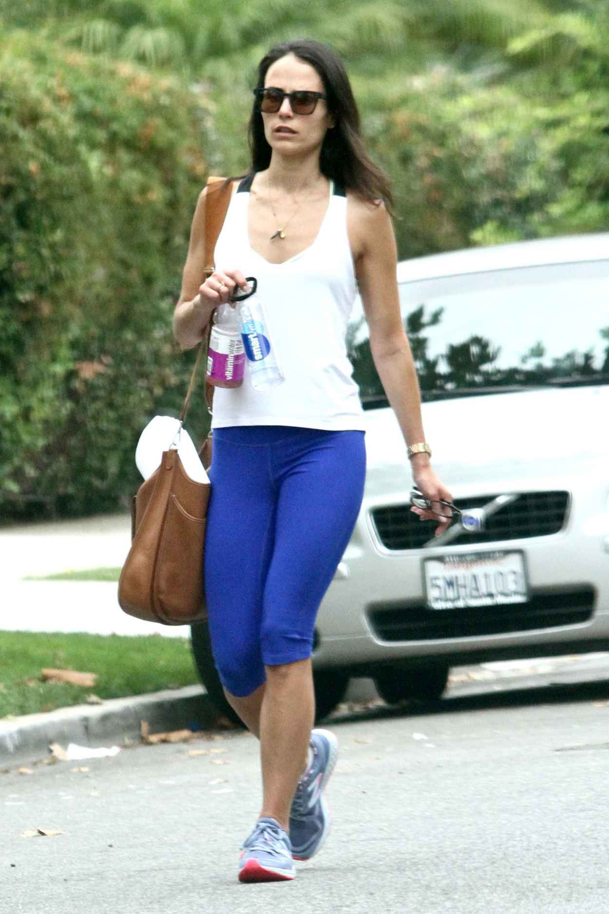 Jordana Brewster - Going to a Gym in West Hollywood, August 2015-3