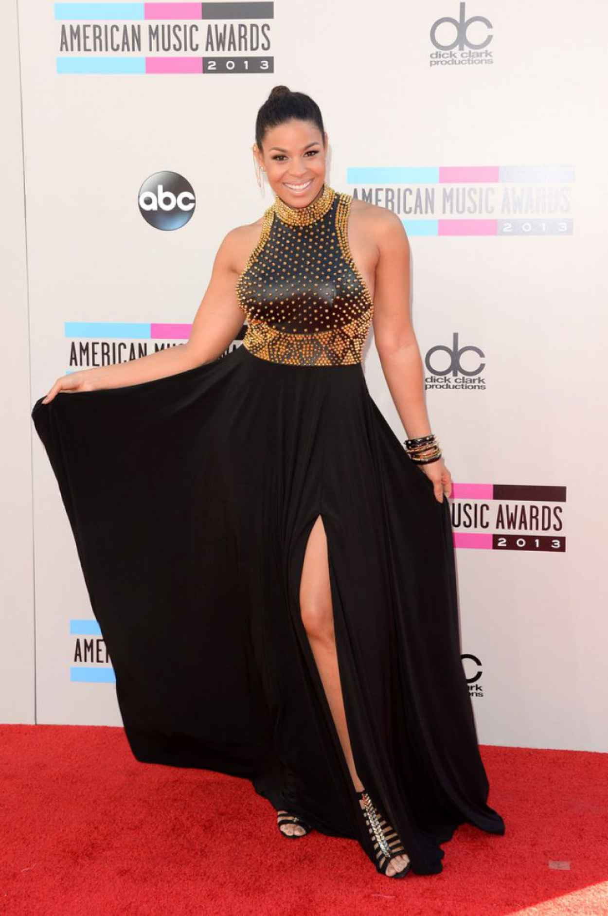 Jordin Sparks on Red Carpet - 2015 American Music Awards-1