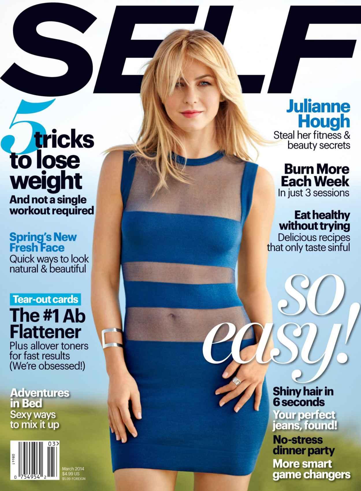 Julianne Hough - Self Magazine (USA) - March 2015 Cover-1