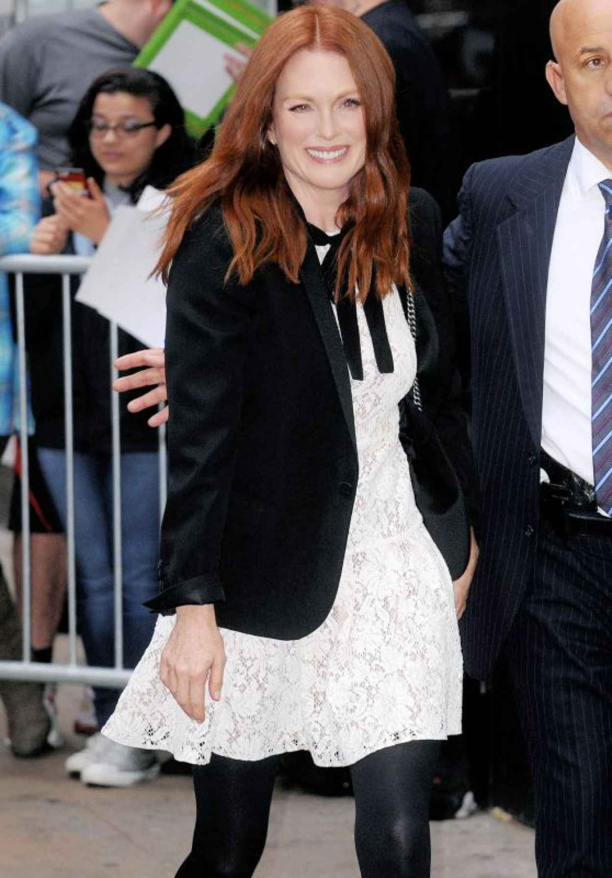Julianne Moore at Good Morning America in New York City, September 2015-1