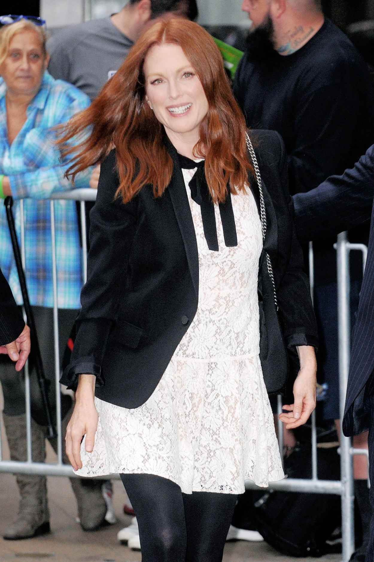 Julianne Moore at Good Morning America in New York City, September 2015-2