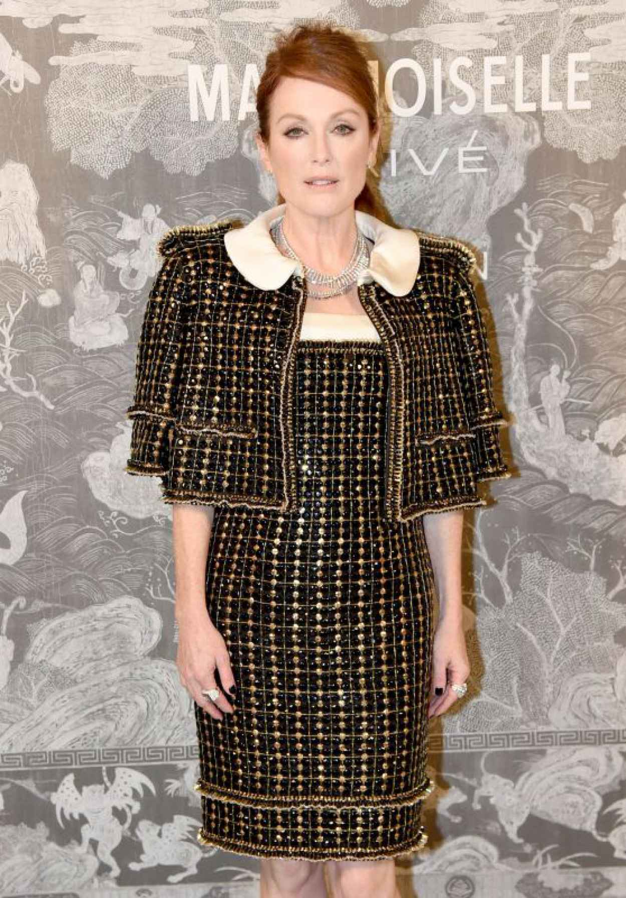 Julianne Moore - Chanel Exhibition Party in London, October 2015-1