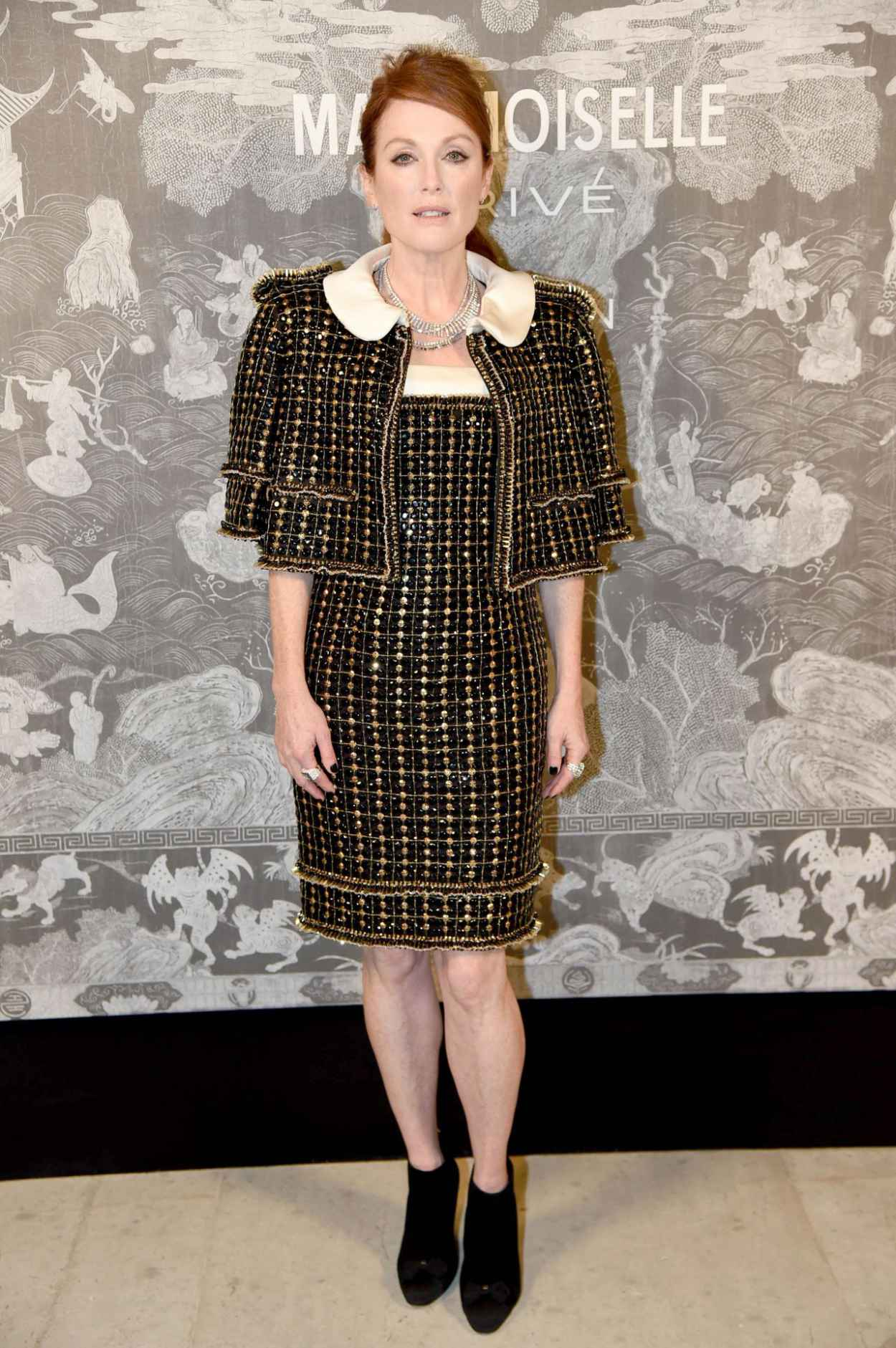 Julianne Moore - Chanel Exhibition Party in London, October 2015-2