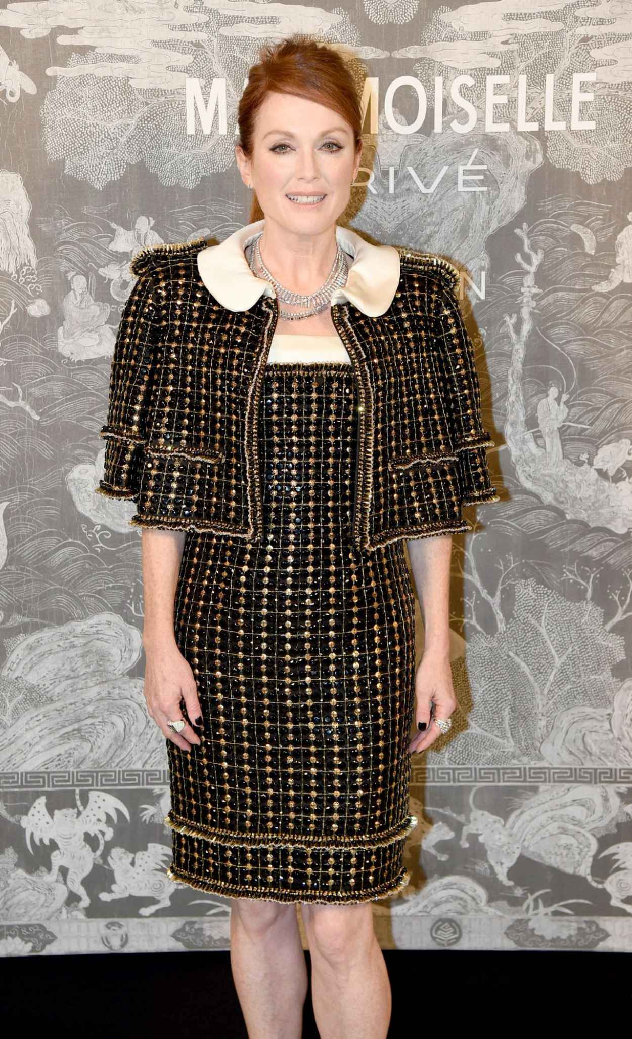 Julianne Moore - Chanel Exhibition Party in London, October 2015-3