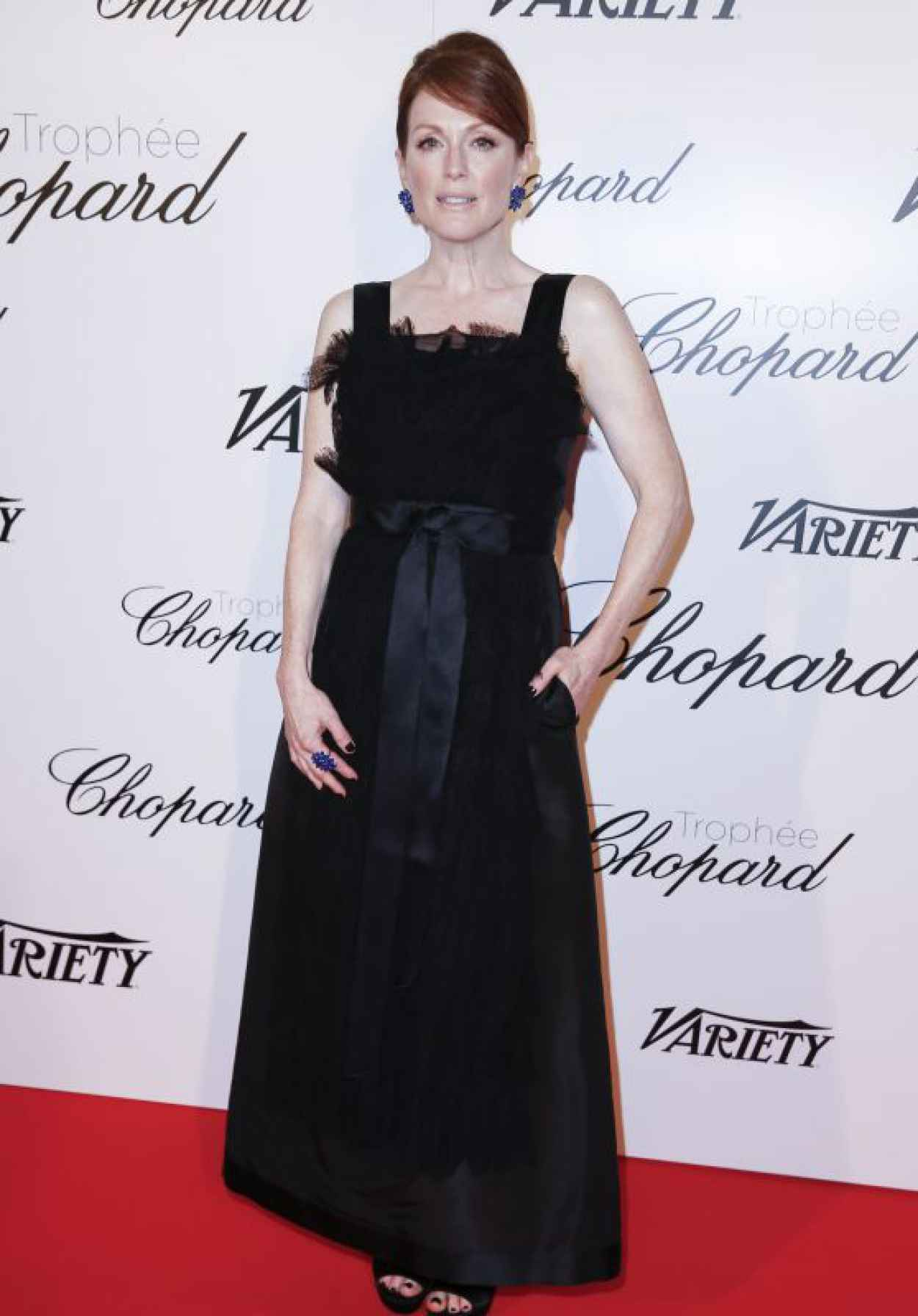 Julianne Moore - Chopard Trophy Party in Cannes, May 2015-1