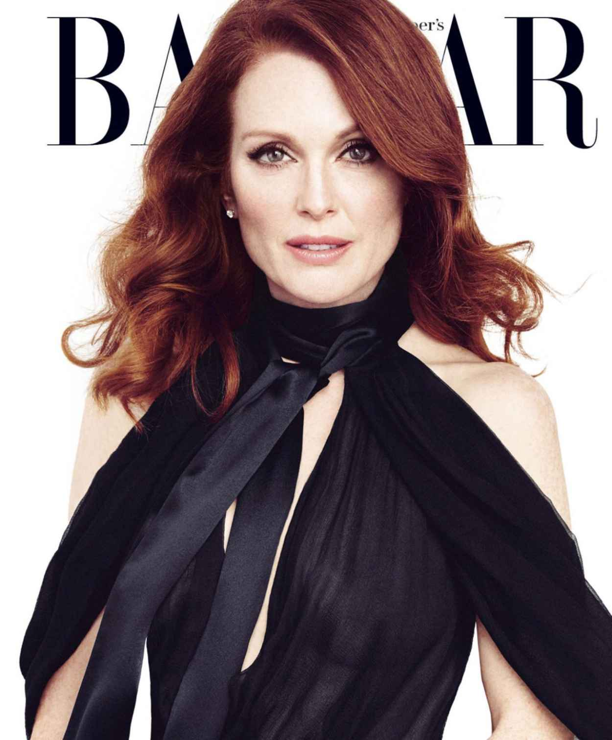 Julianne Moore - Harpers Bazaar Magazine (US) April 2015 Issue-1