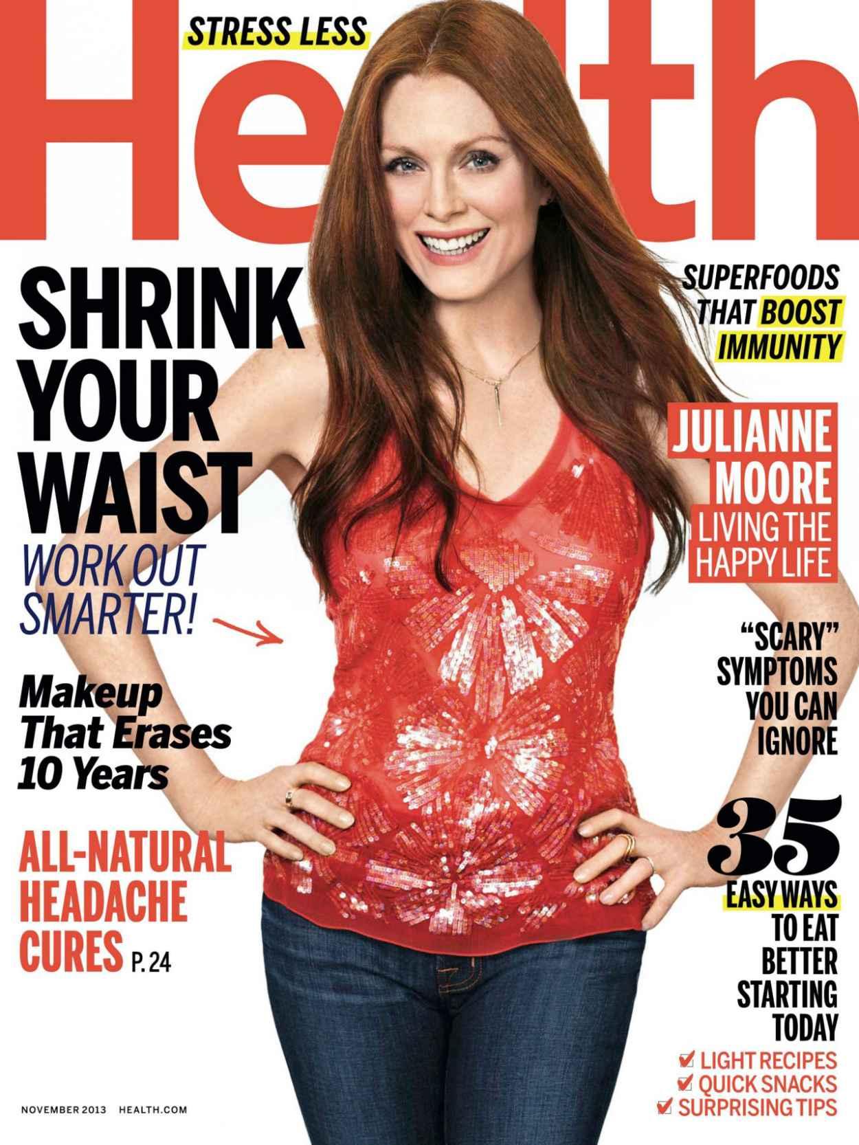Julianne Moore in HEALTH Magazine-1