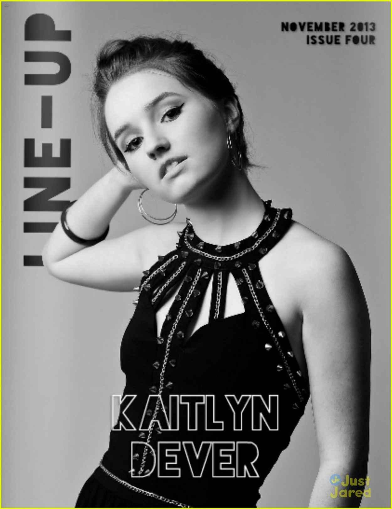 Kaitlyn Dever - LINE-UP Magazine - November 2015 Issue-1