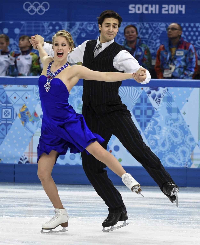 Kaitlyn Weaver - 2015 Sochi Winter Olympics, February 16, 2015-1