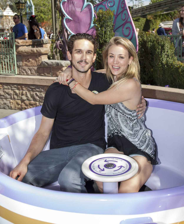 Kaley Cuoco at Disneyland - February 2015-1