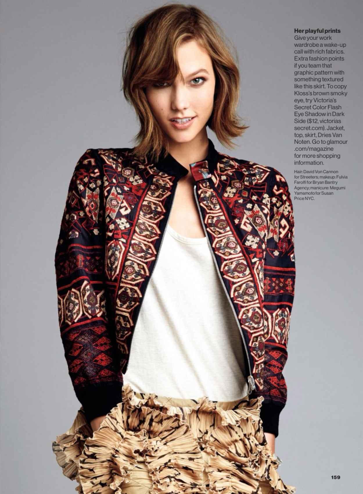 Karlie Kloss - GLAMOUR Magazine - February 2015 Issue-1