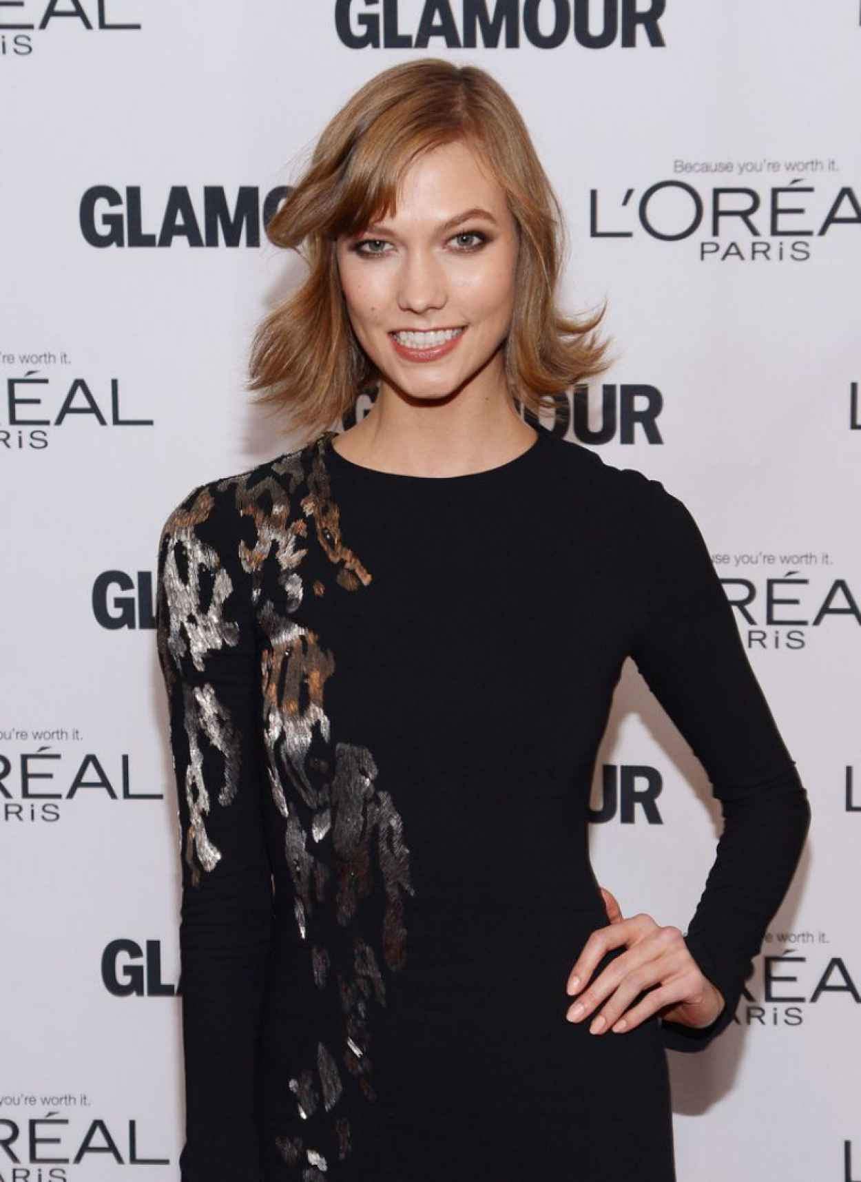 Karlie Kloss Red Carpet Photos - Glamours 23rd Annual Women of the Year Awards in New York City-1