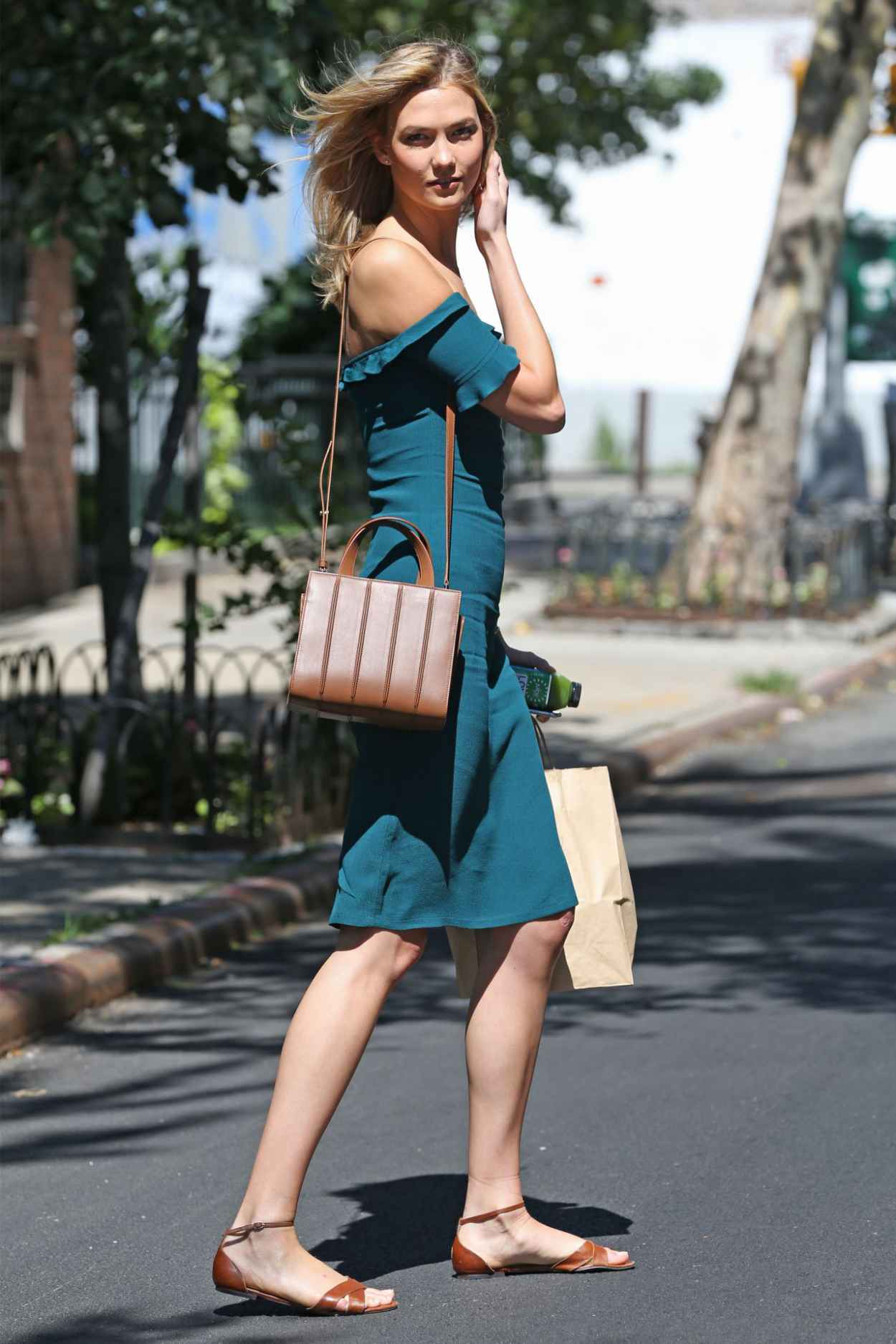 Karlie Kloss Summer Style - Out in NYC, July 2015-2